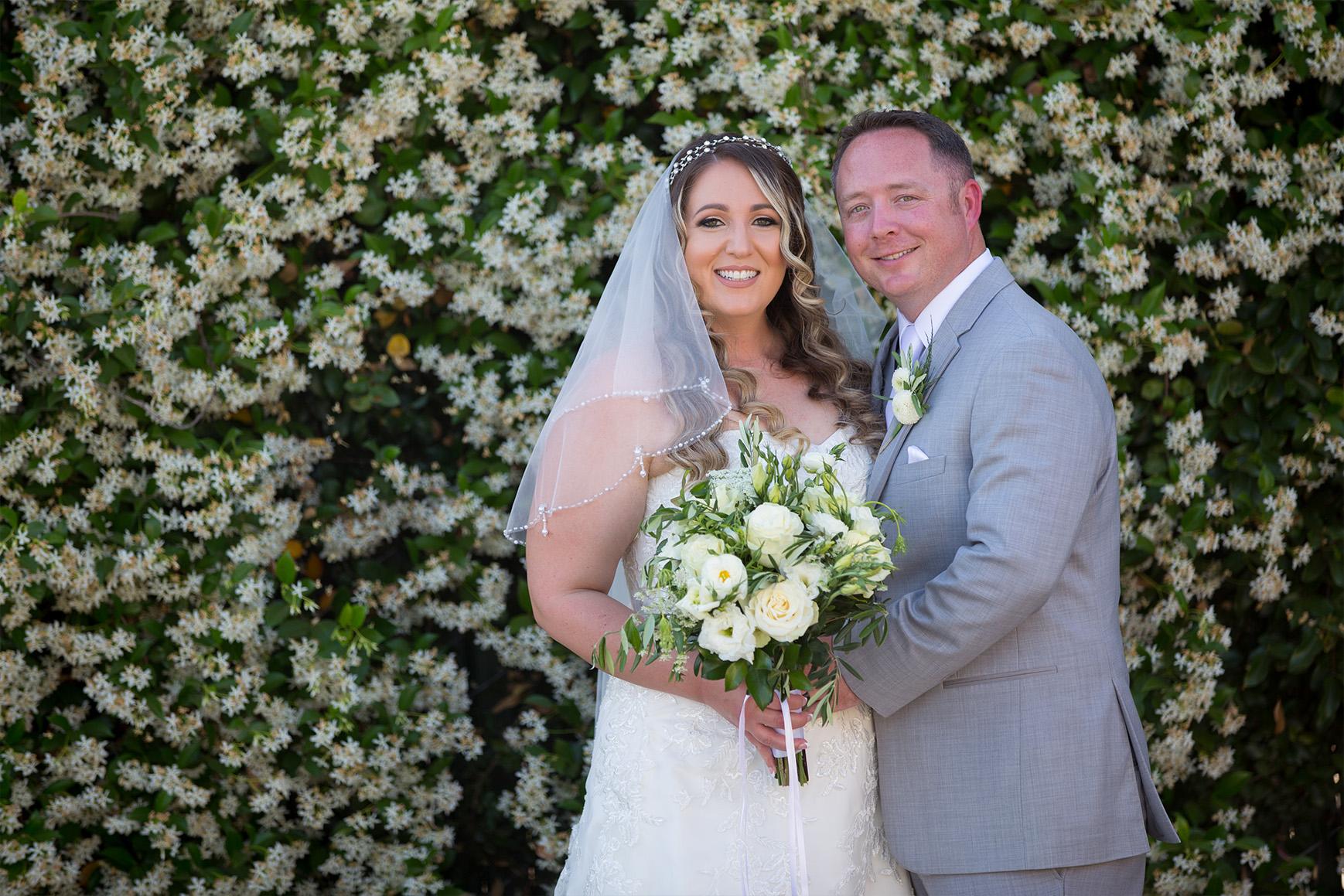 Garden wedding ceremony - Fresno - Fresno, California - Frenso County - Wedgewood Weddngs