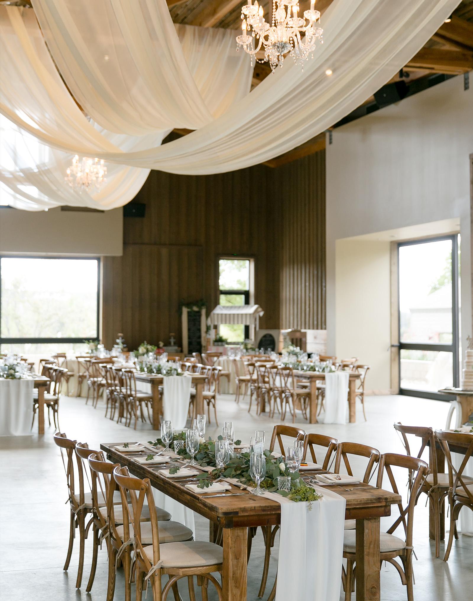 Farm table reception- Temecula, California - Riverside County - Wedgewood Weddings