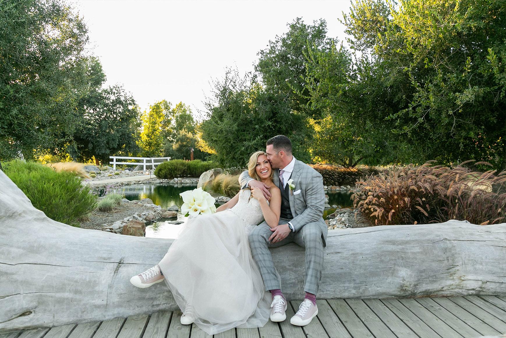 Sweet relaxed couple - Galway Downs - Temecula, California - Riverside County - Wedgewood Weddings