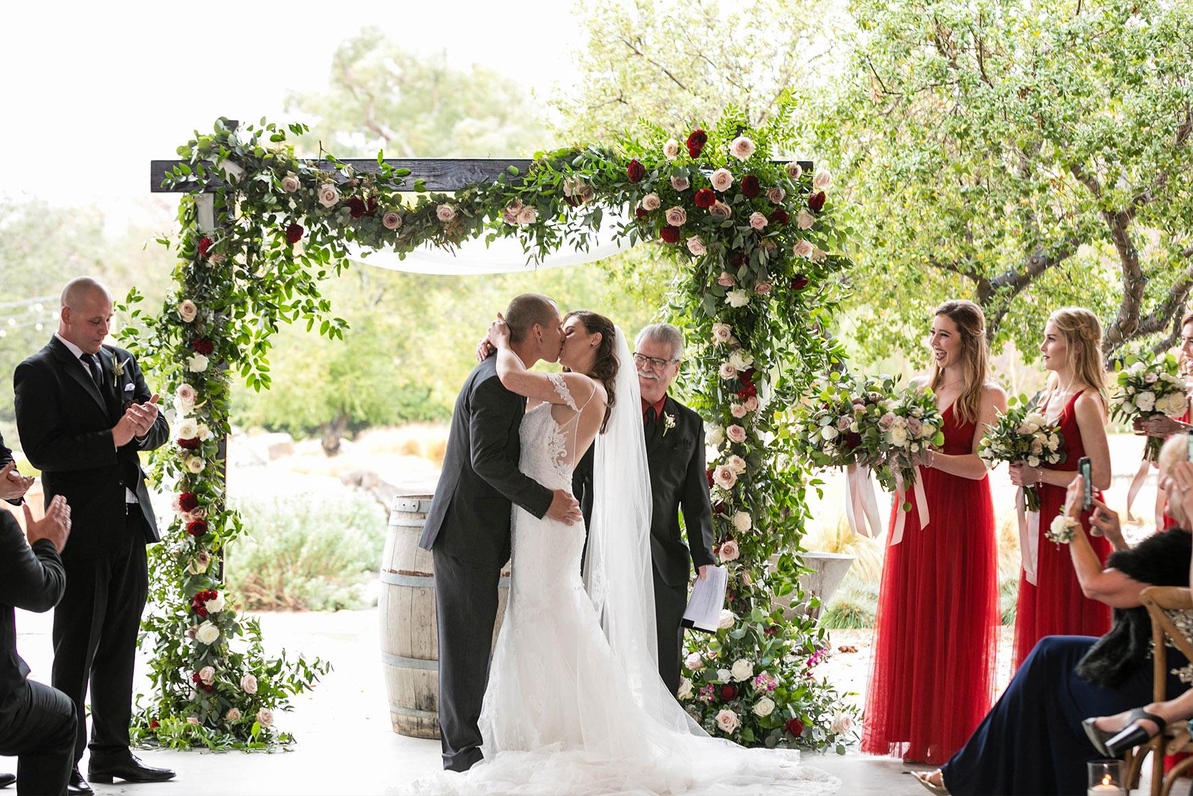 Warm Indoor Cerermony - Galway Downs - Temecula, California - Riverside County - Wedgewood Weddings