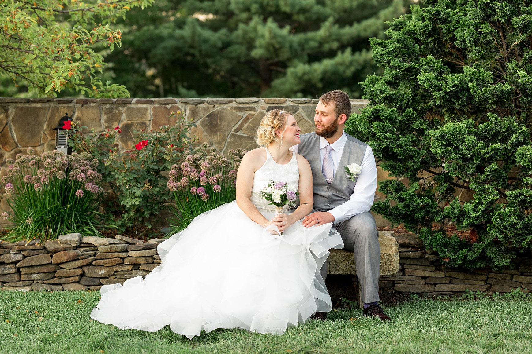 Happy Couple - Granite Rose - Hampstead, New Hampshire - Rockingham County - Wedgewood Weddings