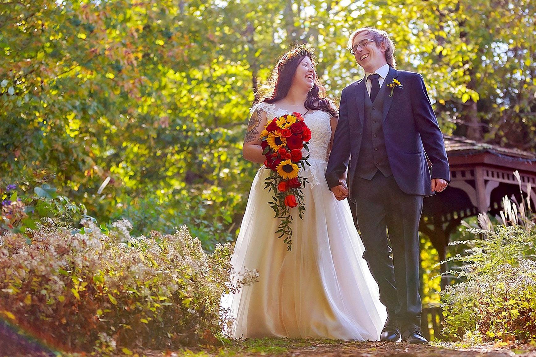 Fun Couple - Granite Rose - Hampstead, New Hampshire - Rockingham County - Wedgewood Weddings