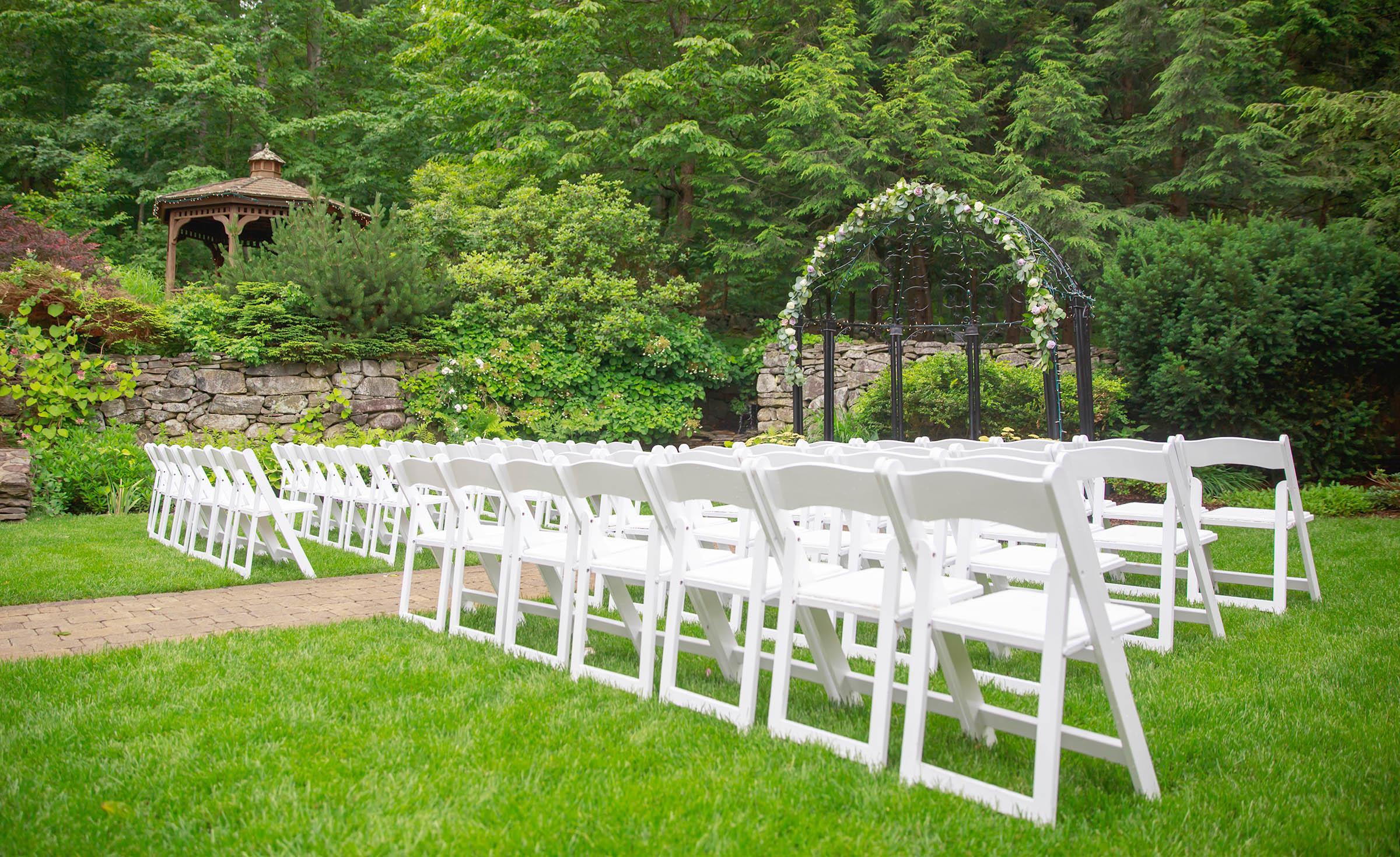 Ceremony Site- Granite Rose - Hampstead, New Hampshire - Rockingham County - Wedgewood Weddings