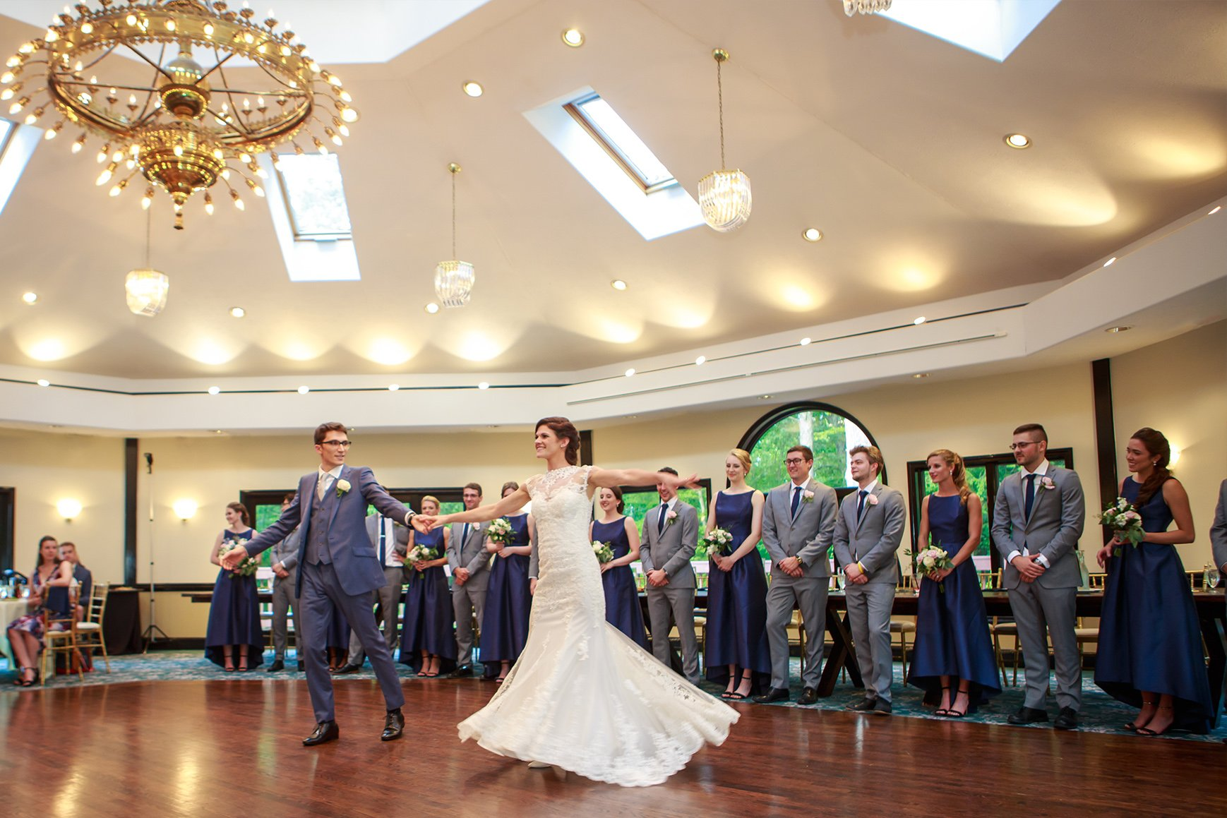 First Dance - Granite Rose - Hampstead, New Hampshire - Rockingham County - Wedgewood Weddings