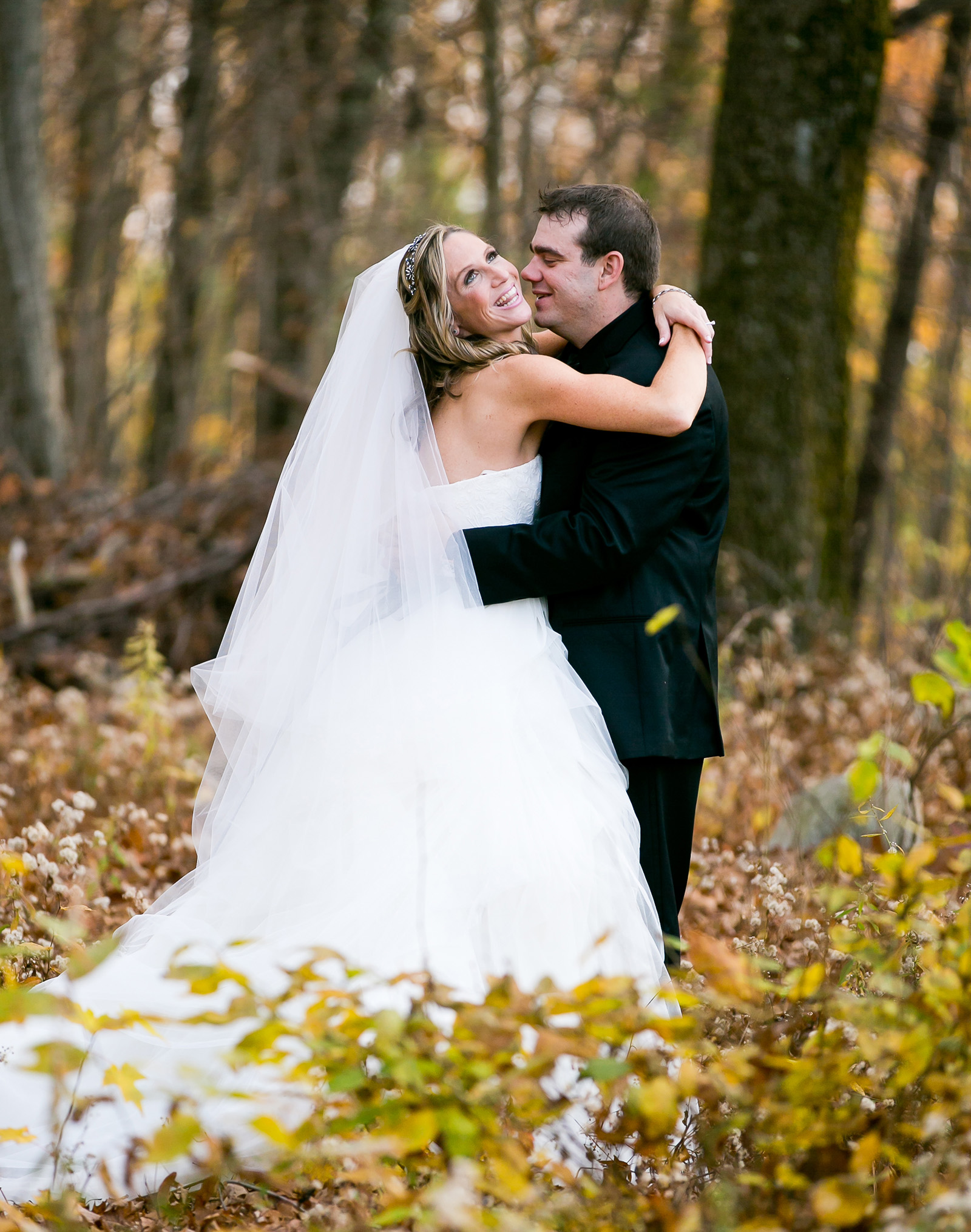 Happy newlyweds - Granite Rose - Hampstead, New Hampshire - Rockingham County - Wedgewood Weddings