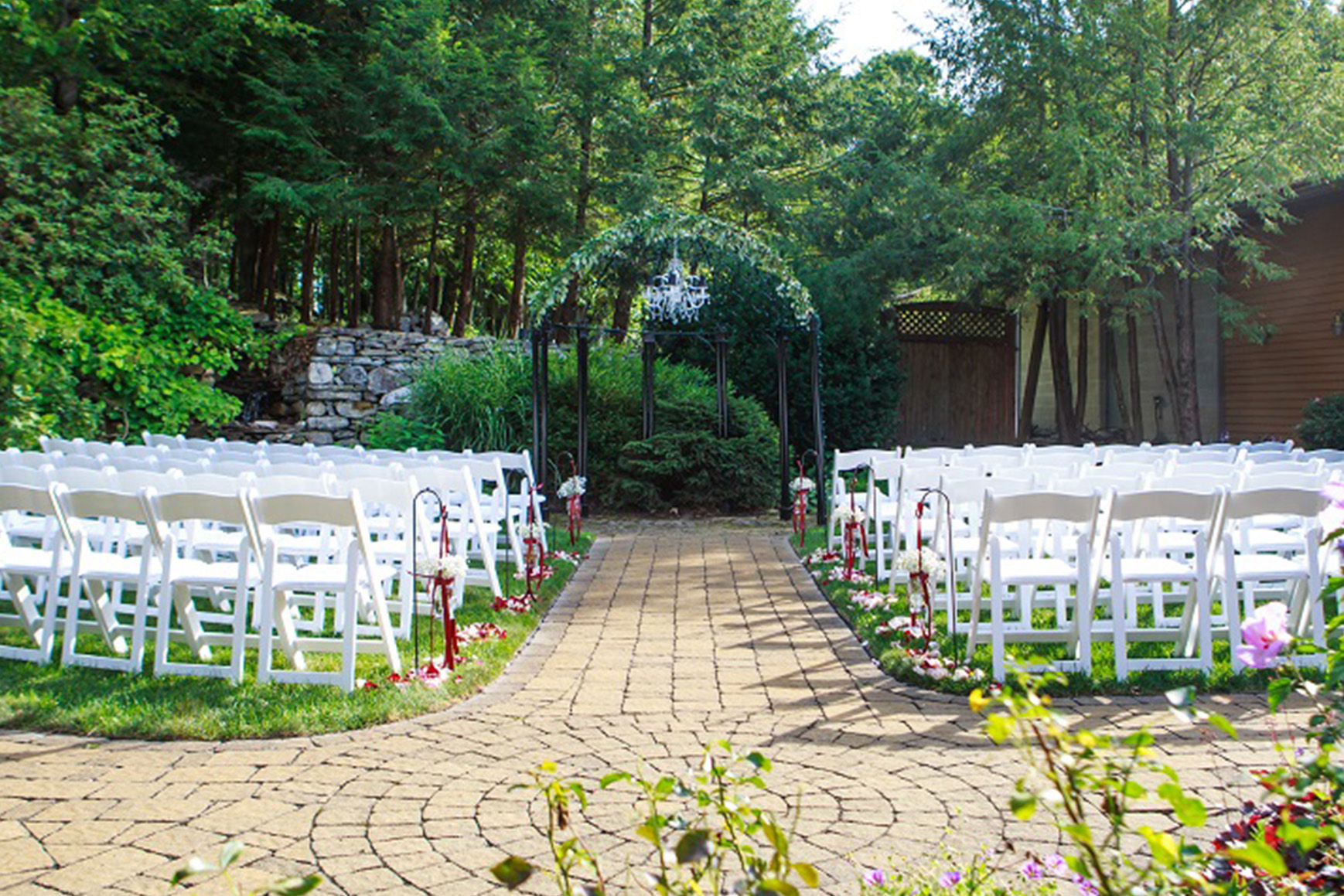 Ceremony Site - Granite Rose - Hampstead, New Hampshire - Rockingham County - Wedgewood Weddings
