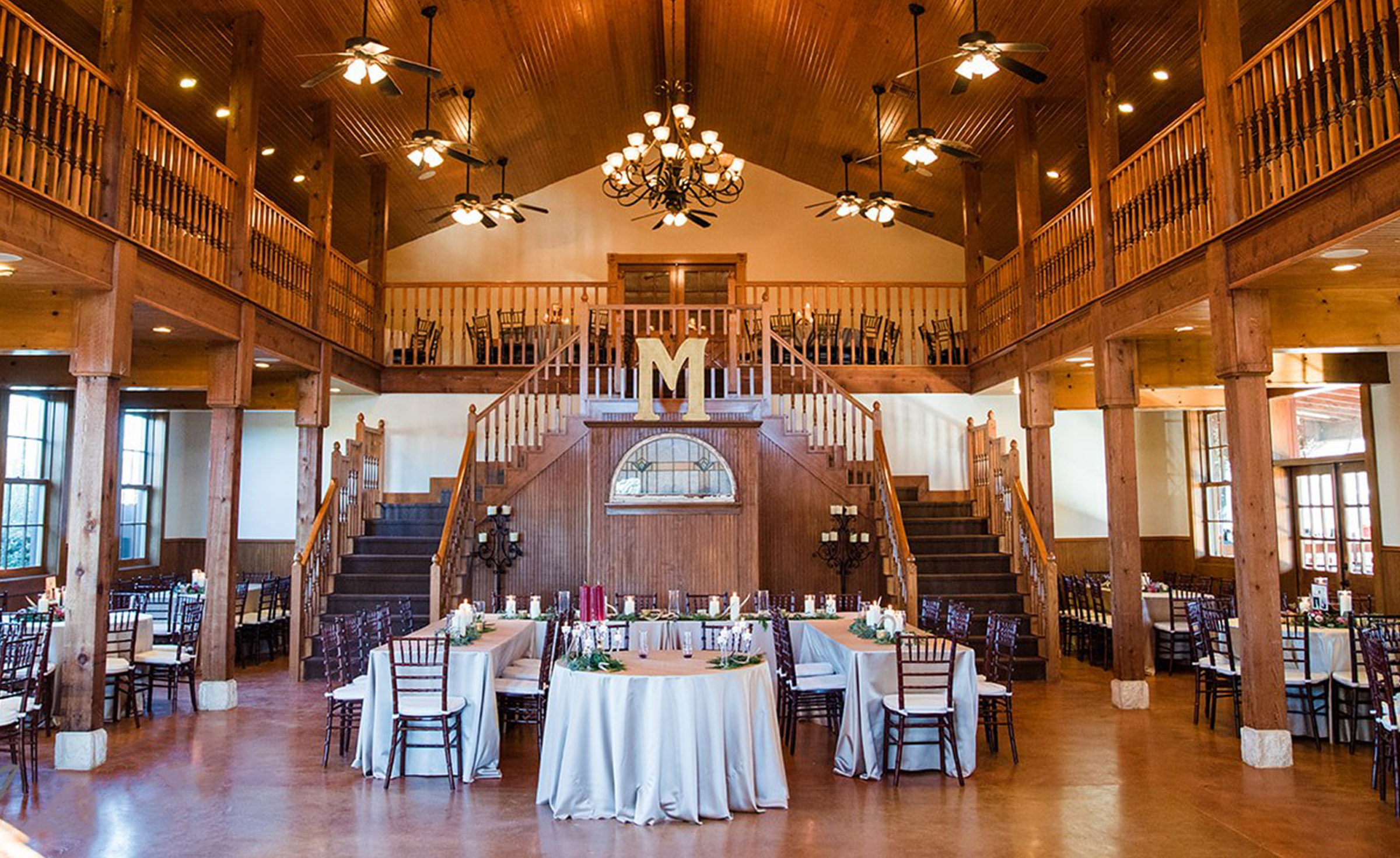 Banquet Hall - Hofmann Ranch - Castroville, Texas - Medina County - Wedgewood Weddings