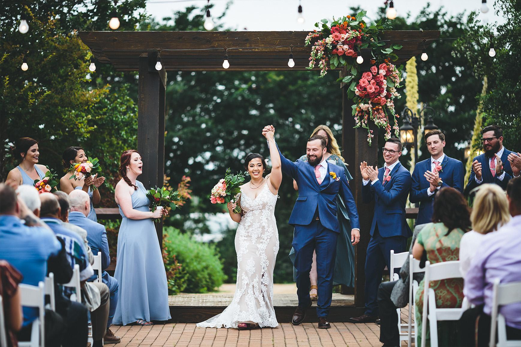 Outdoor Ceremony  - Hofmann Ranch - Castroville, Texas - Medina County - Wedgewood Weddings