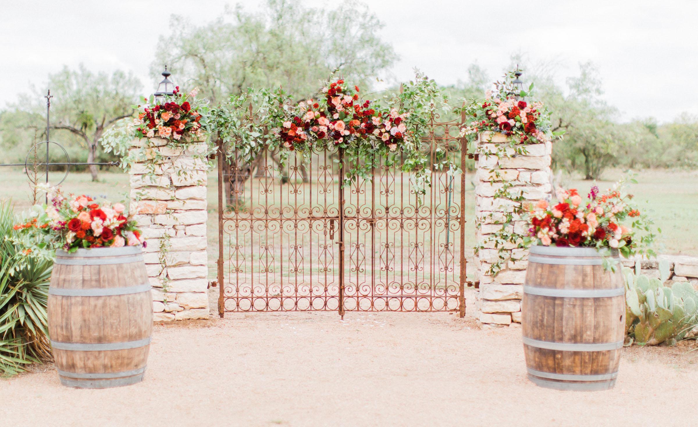 Ceremony Site - Hofmann Ranch - Castroville, Texas - Medina County - Wedgewood Weddings