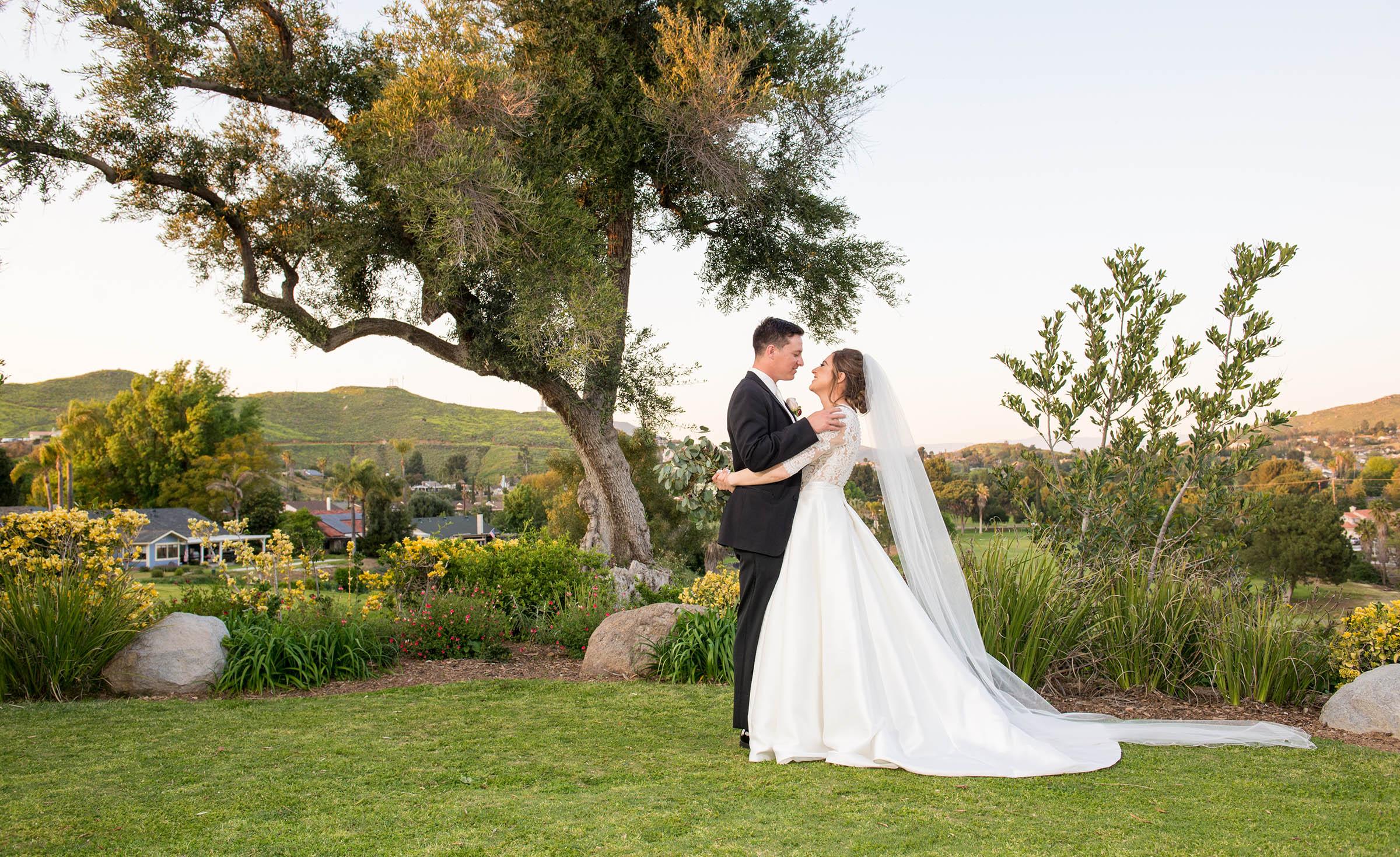 Happy Couple - Indian Hills - Riverside, California - Riverside County - Wedgewood Weddings