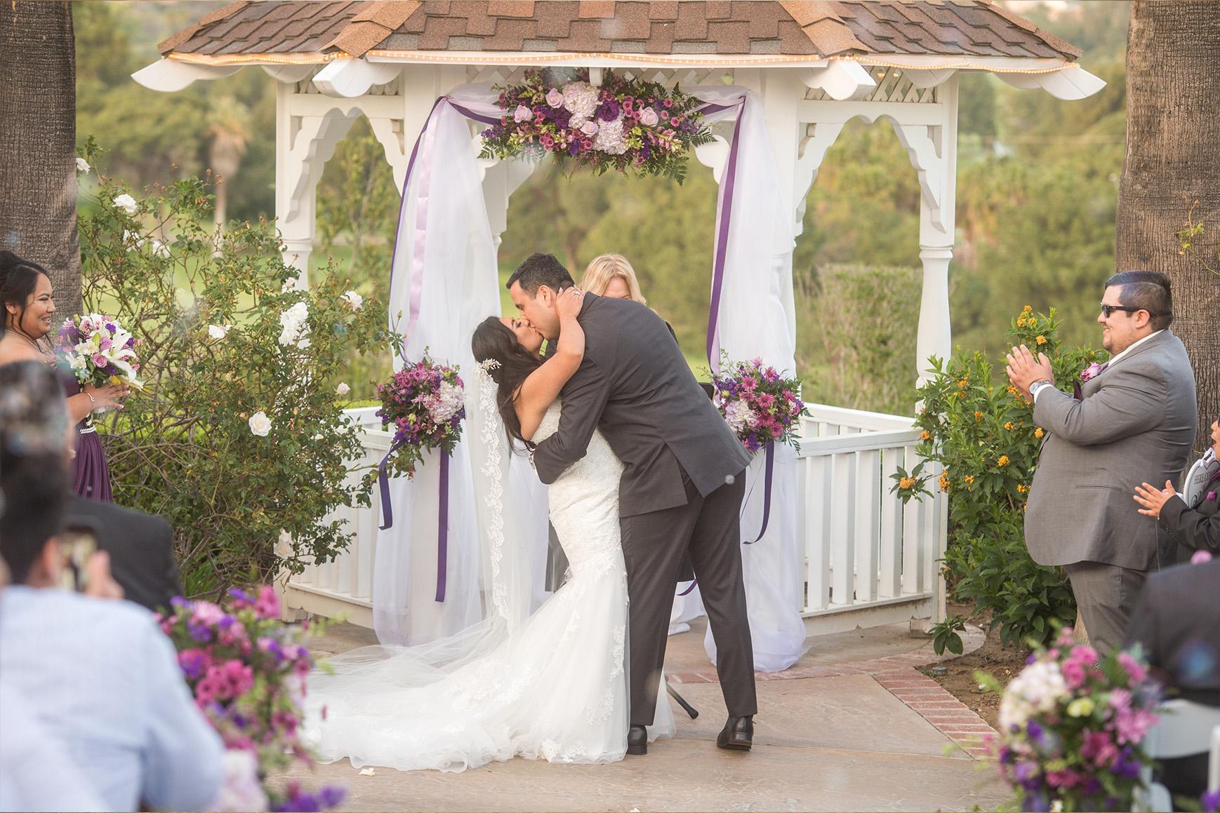 Indoor reception room - Indian Hills - Riverside, California - Riverside County - Wedgewood Weddings