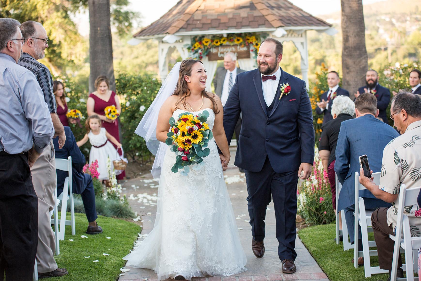 Farm table reception - Indian Hills - Riverside, California - Riverside County - Wedgewood Weddings