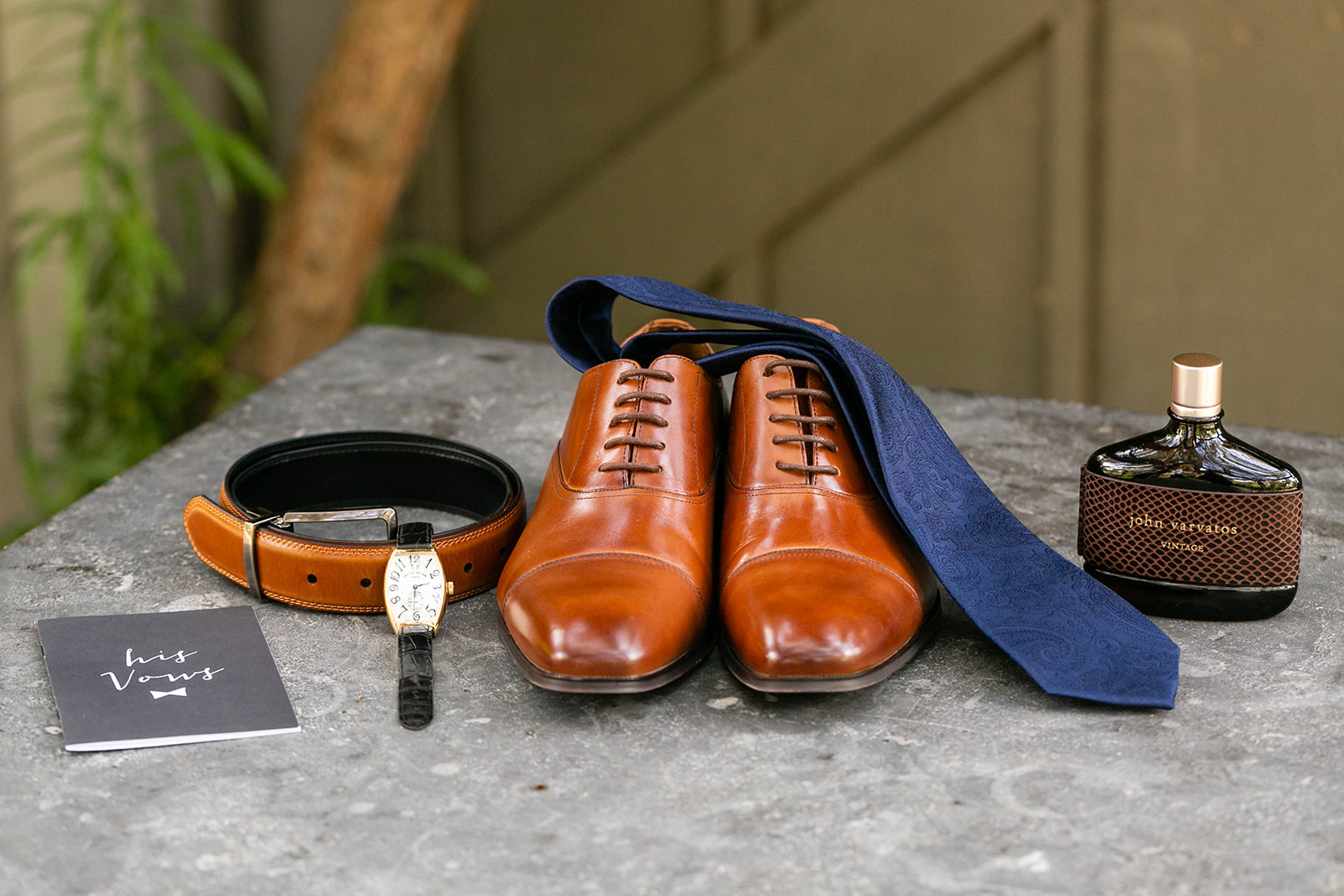 Groomsmen accessories at Galway Downs