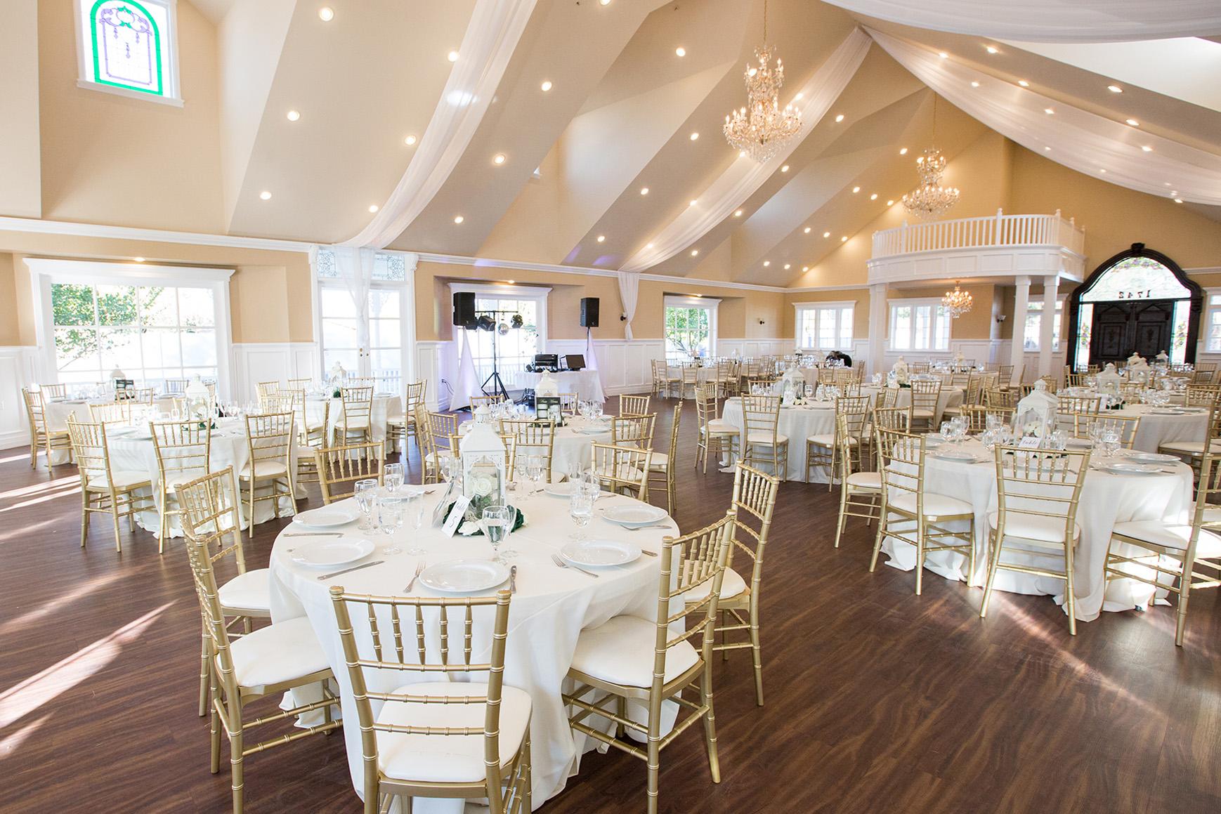 Stunning indoor reception space - Lindsay Grove - Mesa, Arizona - Maricopa County - Wedgewood Weddings