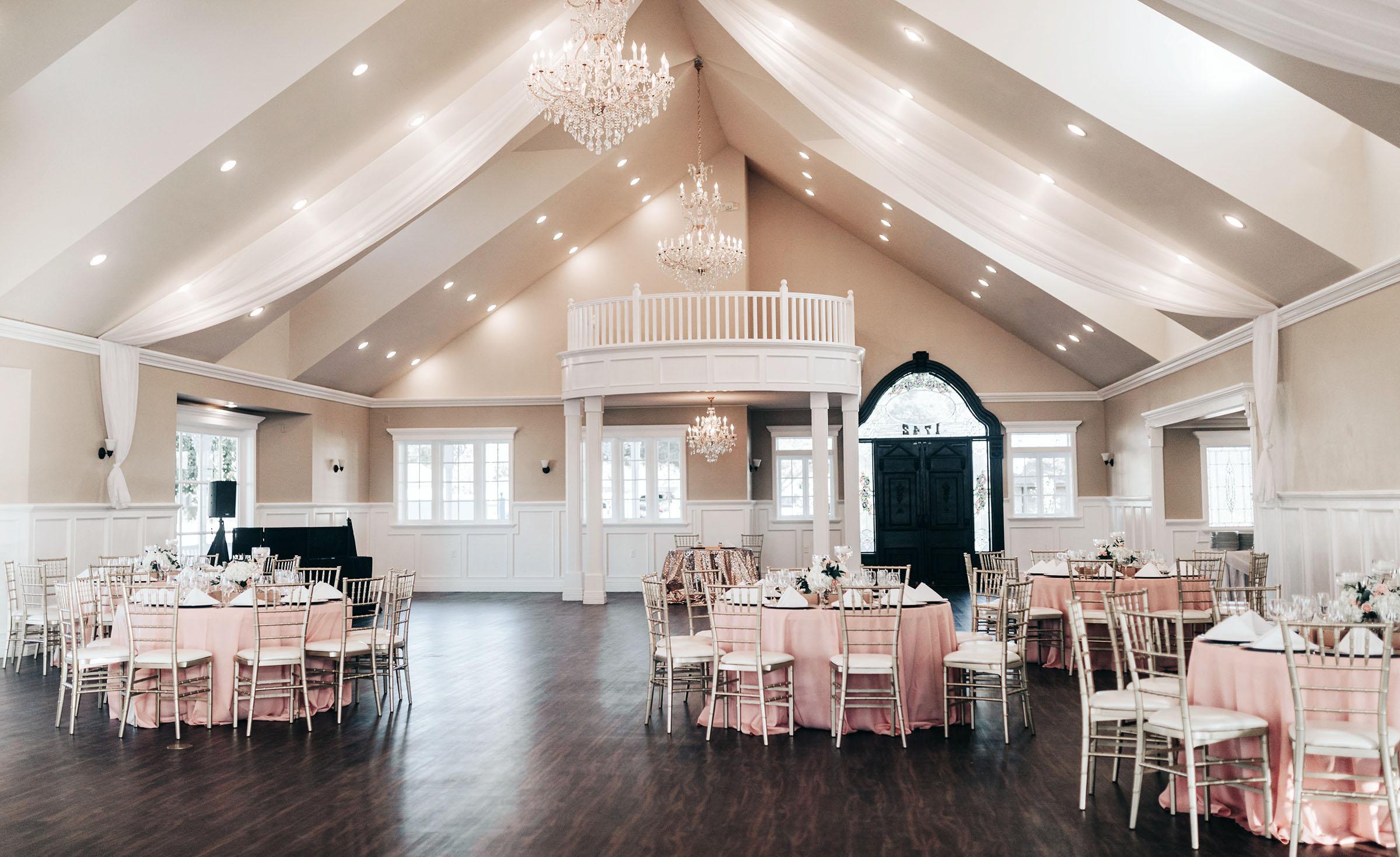 Indoor Reception Space - Lindsay Grove - Mesa, Arizona - Maricopa County - Wedgewood Weddings