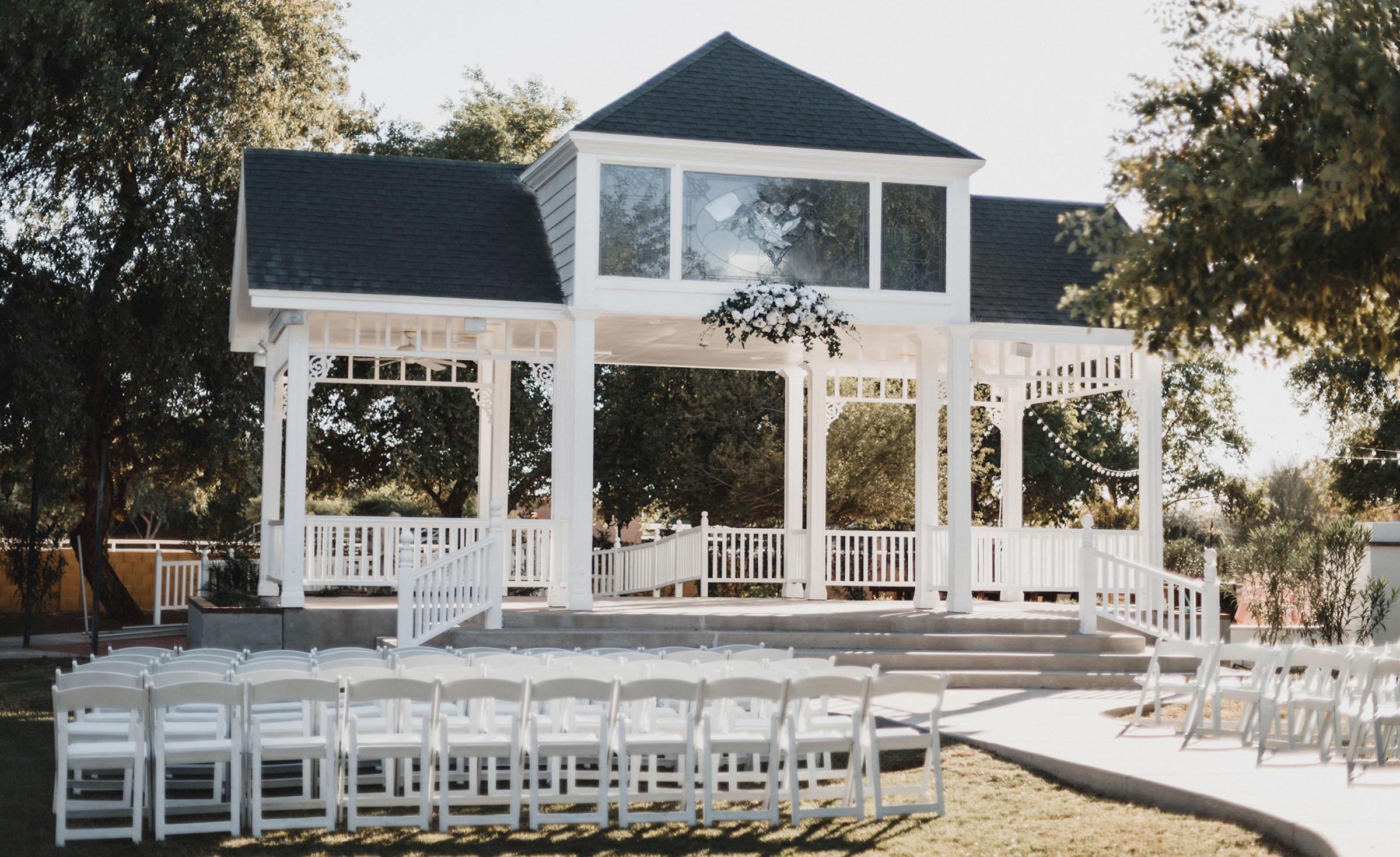 Ceremony Site - Lindsay Grove - Mesa, Arizona - Maricopa County - Wedgewood Weddings