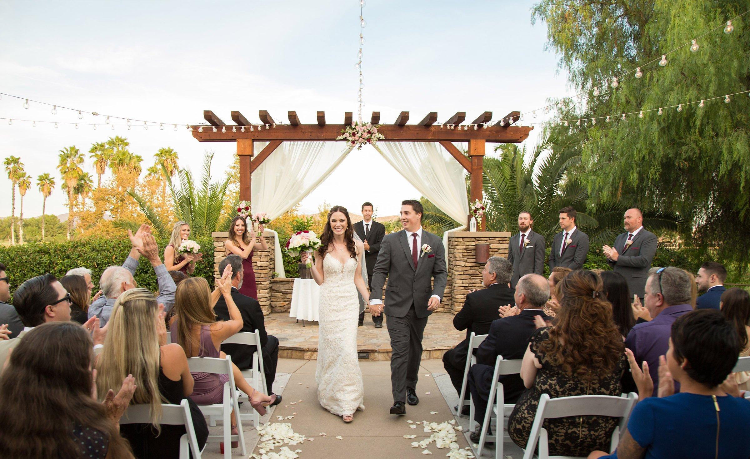 Newlyweds - Menifee Lakes - Menifee, California - Riverside County - Wedgewood Weddings