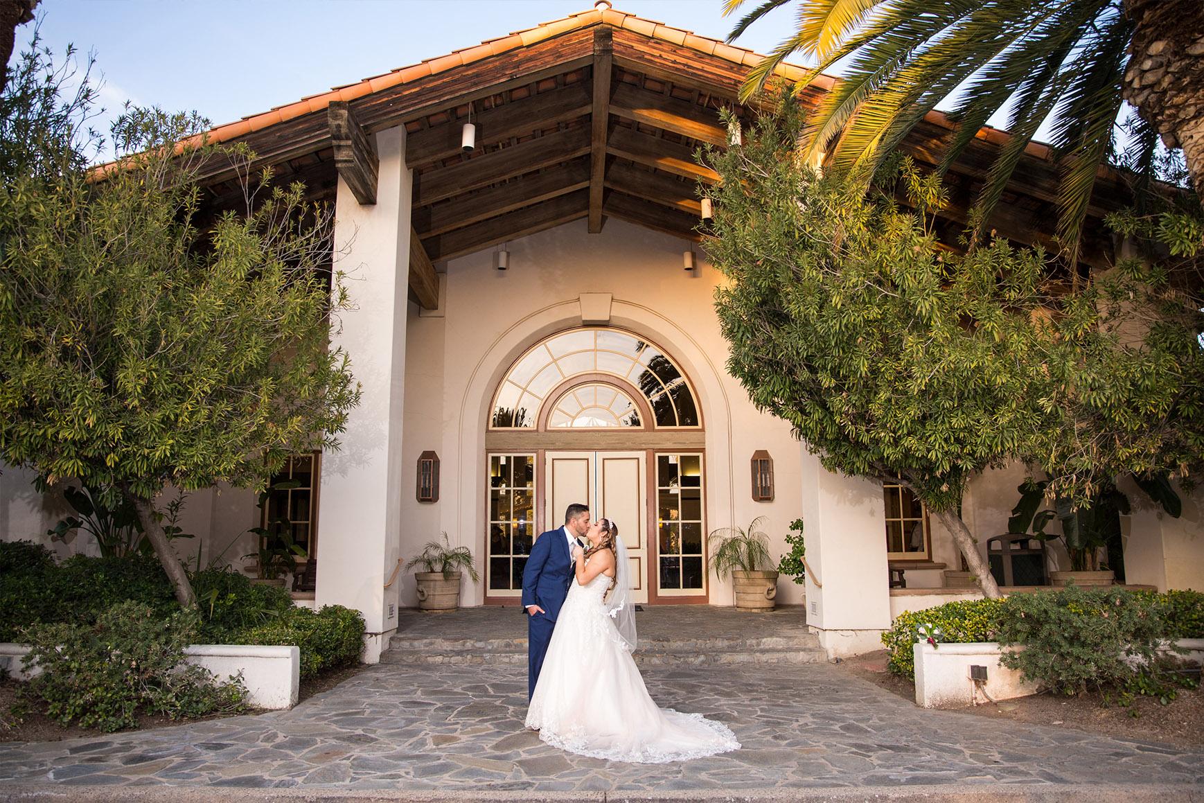 Grant entrance - Menifee Lakes - Menifee, California - Riverside County - Wedgewood Weddings