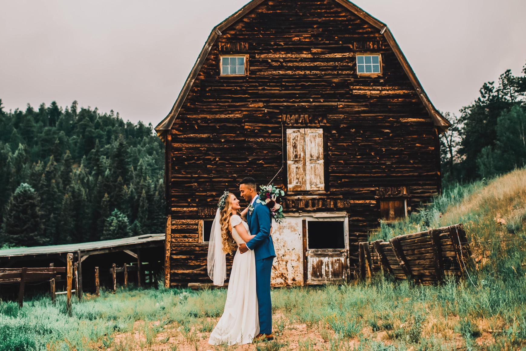 Rustic Barn Mountain View Ranch - Pine, Colorado - Jefferson County - Wedgewood Weddings