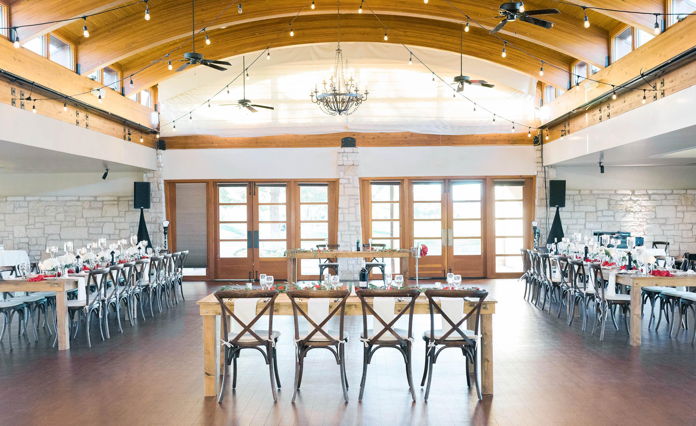 Indoor ballroom reception - Ocotillo - Chandler, Arizona - Maricopa County - Wedgewood Weddings