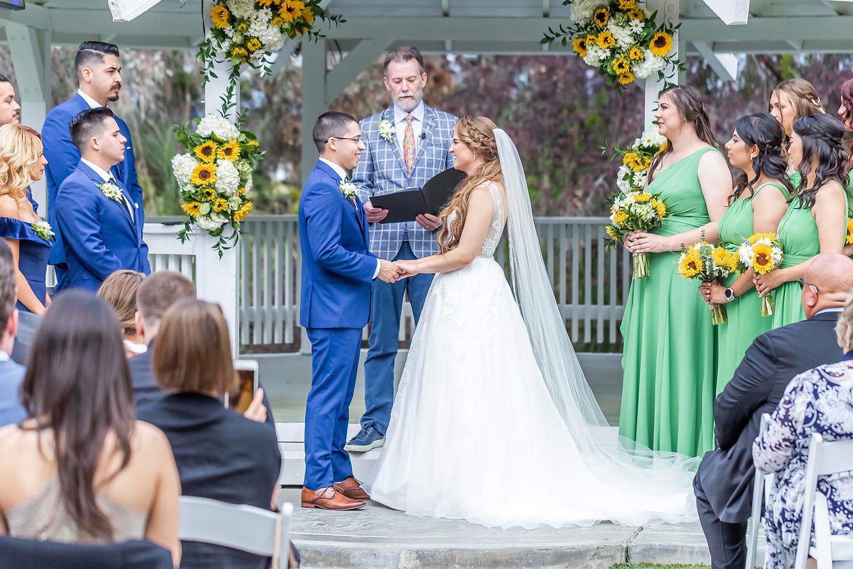 Outdoor ceremony - Orchard - Menifee, California - Riverside County - Wedgewood Weddings