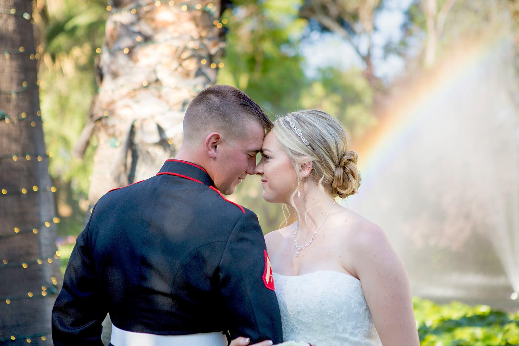 Military couple - Orchard - Menifee, California - Riverside County - Wedgewood Weddings