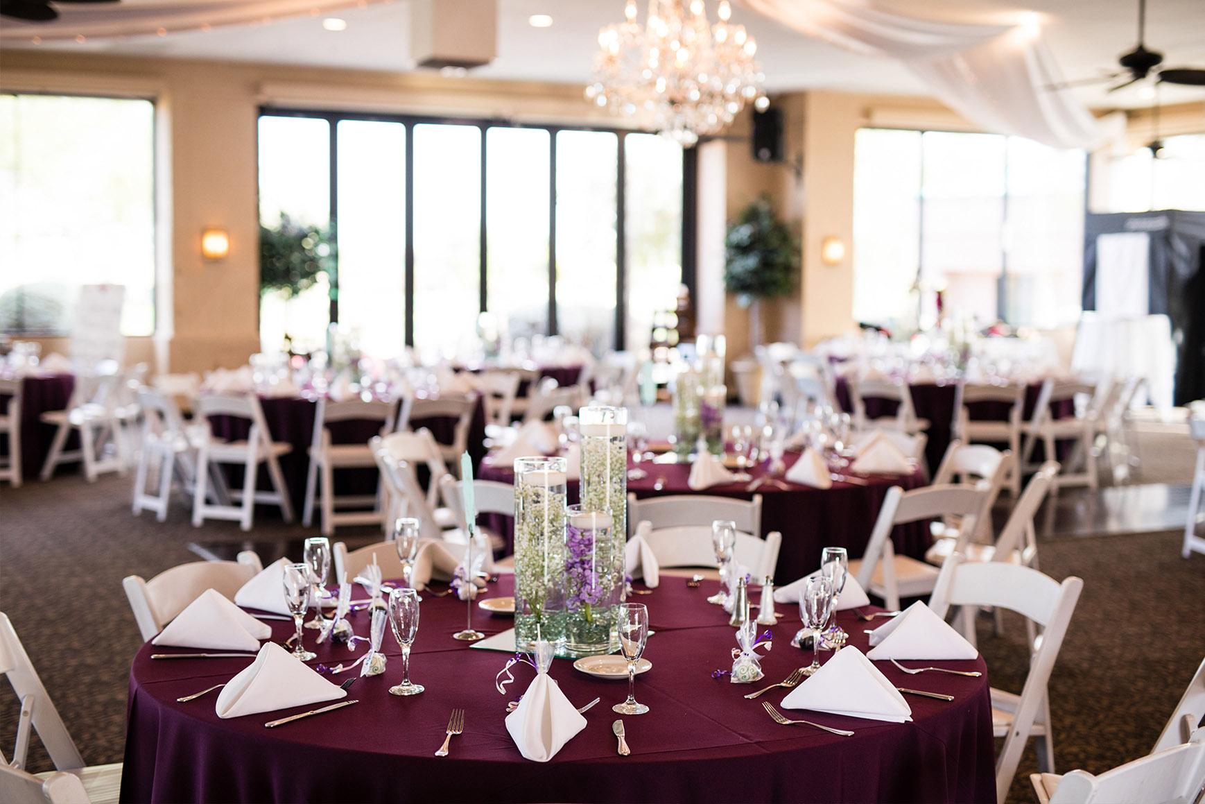 Banquet Room - Palm Valley - Goodyear, Arizona - Maricopa County - Wedgewood Weddings