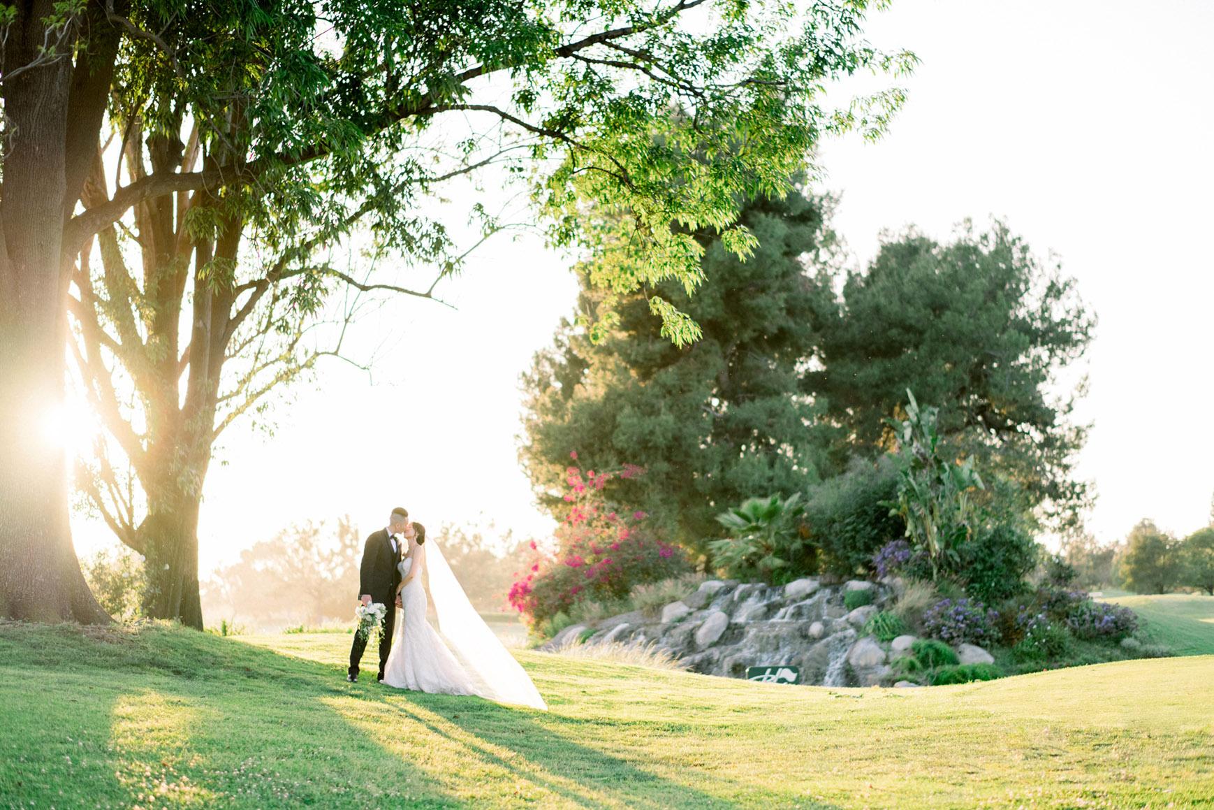 Happy couple - Rio Hondo - Downey, California - Los Angeles County - Wedgewood Weddings