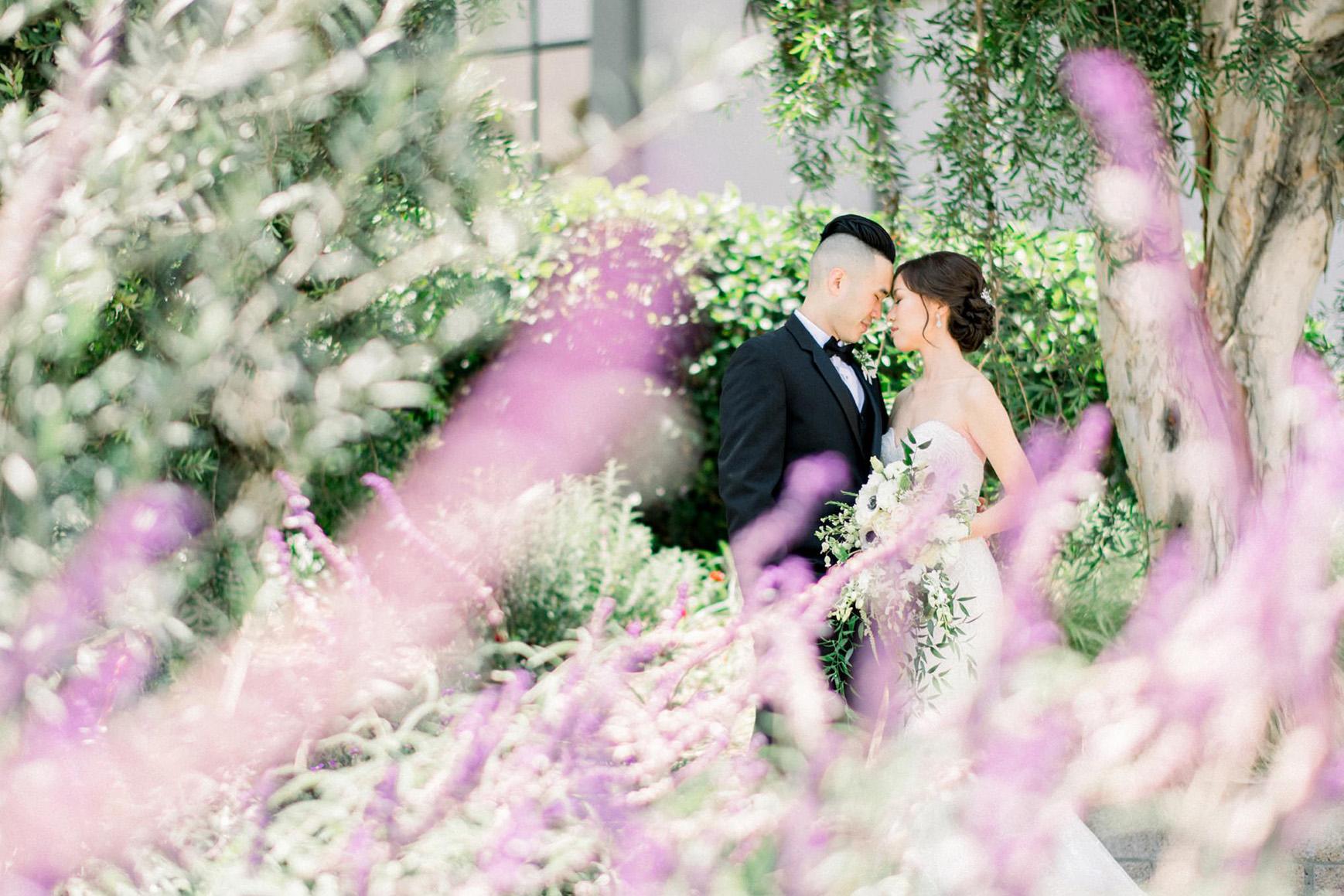 Bride & groom - Rio Hondo - Downey, California - Los Angeles County - Wedgewood Weddings