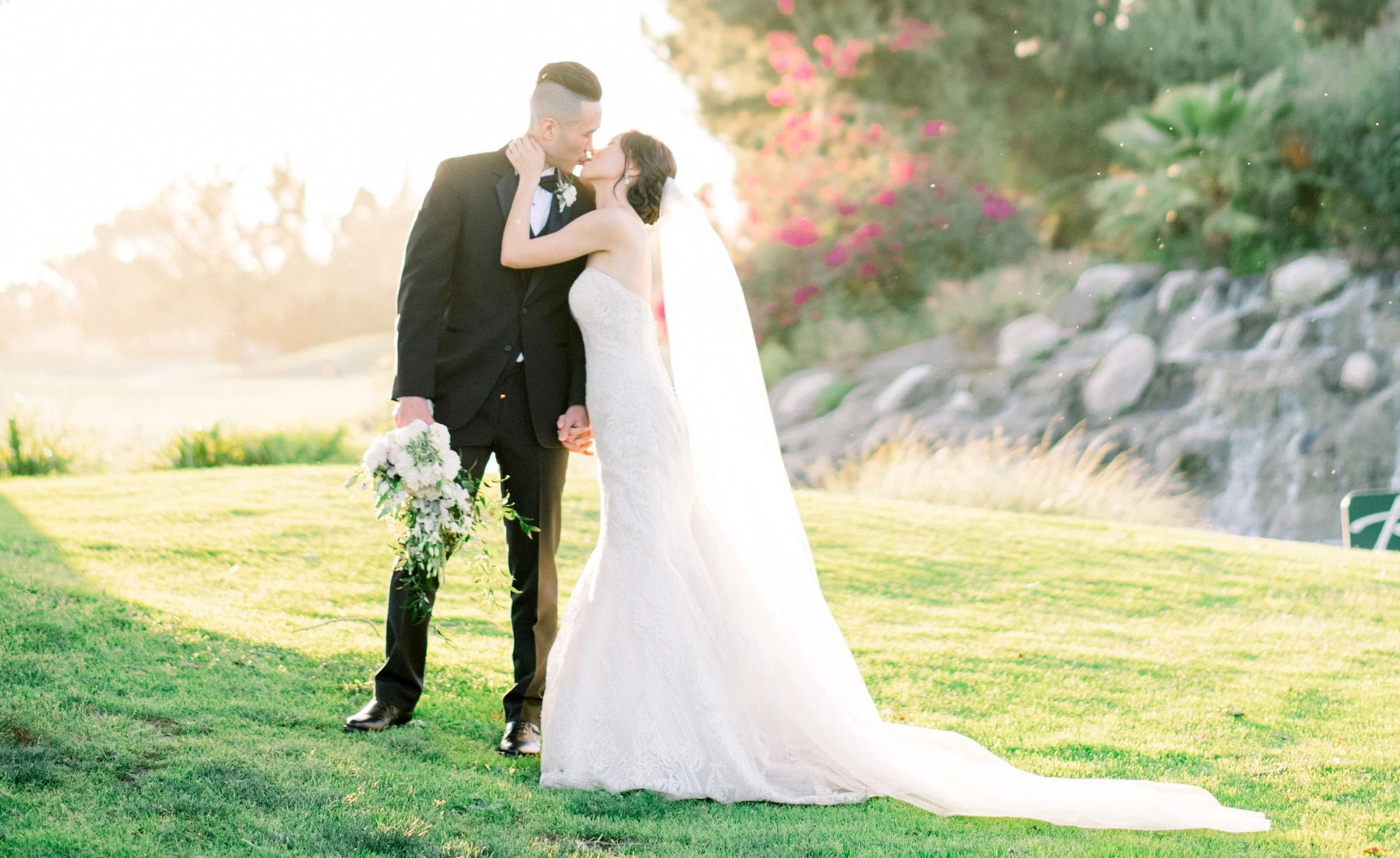 Newlyweds - Rio Hondo - Downey, California - Los Angeles County - Wedgewood  Weddings