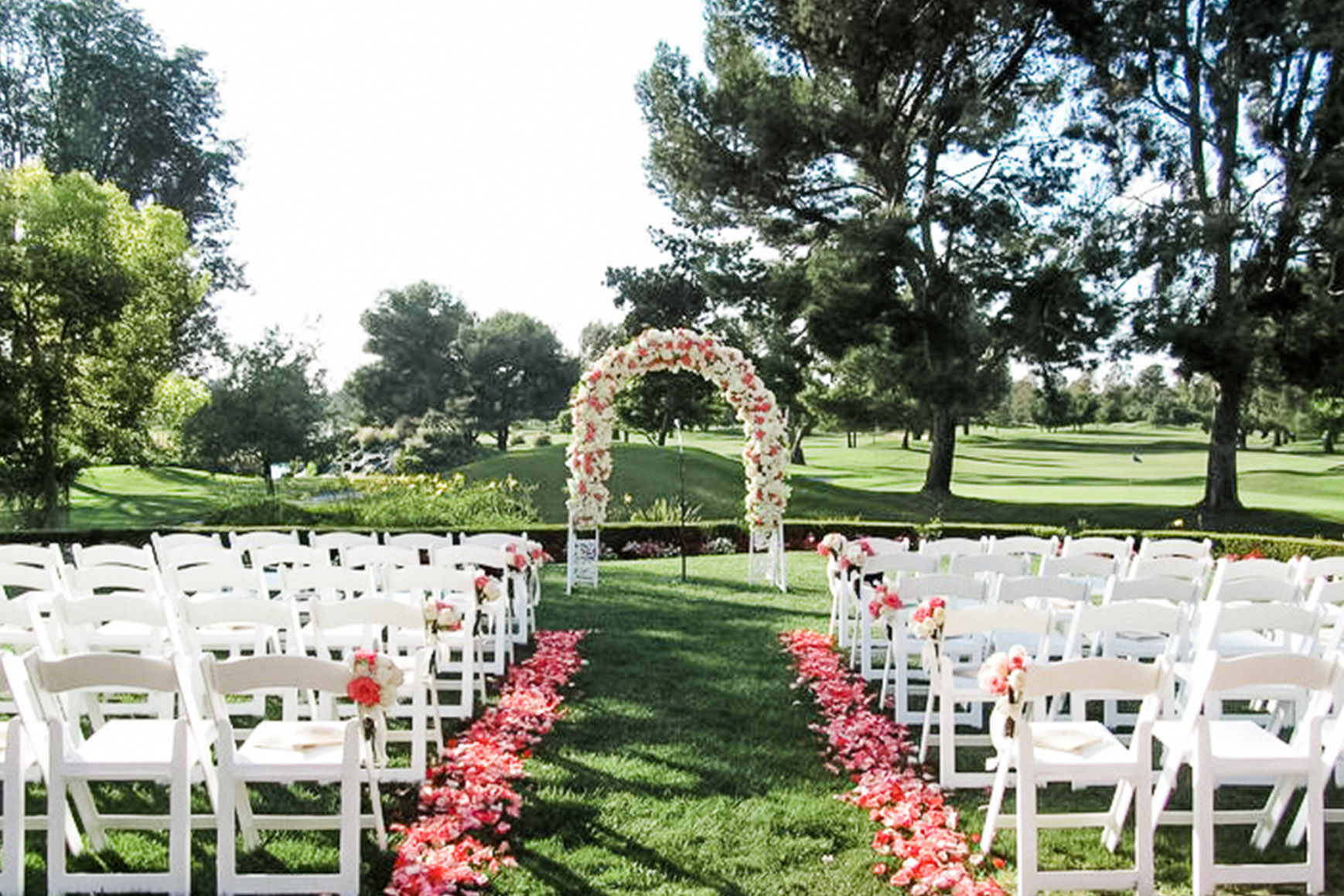 Outdoor Ceremony - Rio Hondo - Downey, California - Los Angeles County - Wedgewood Weddings