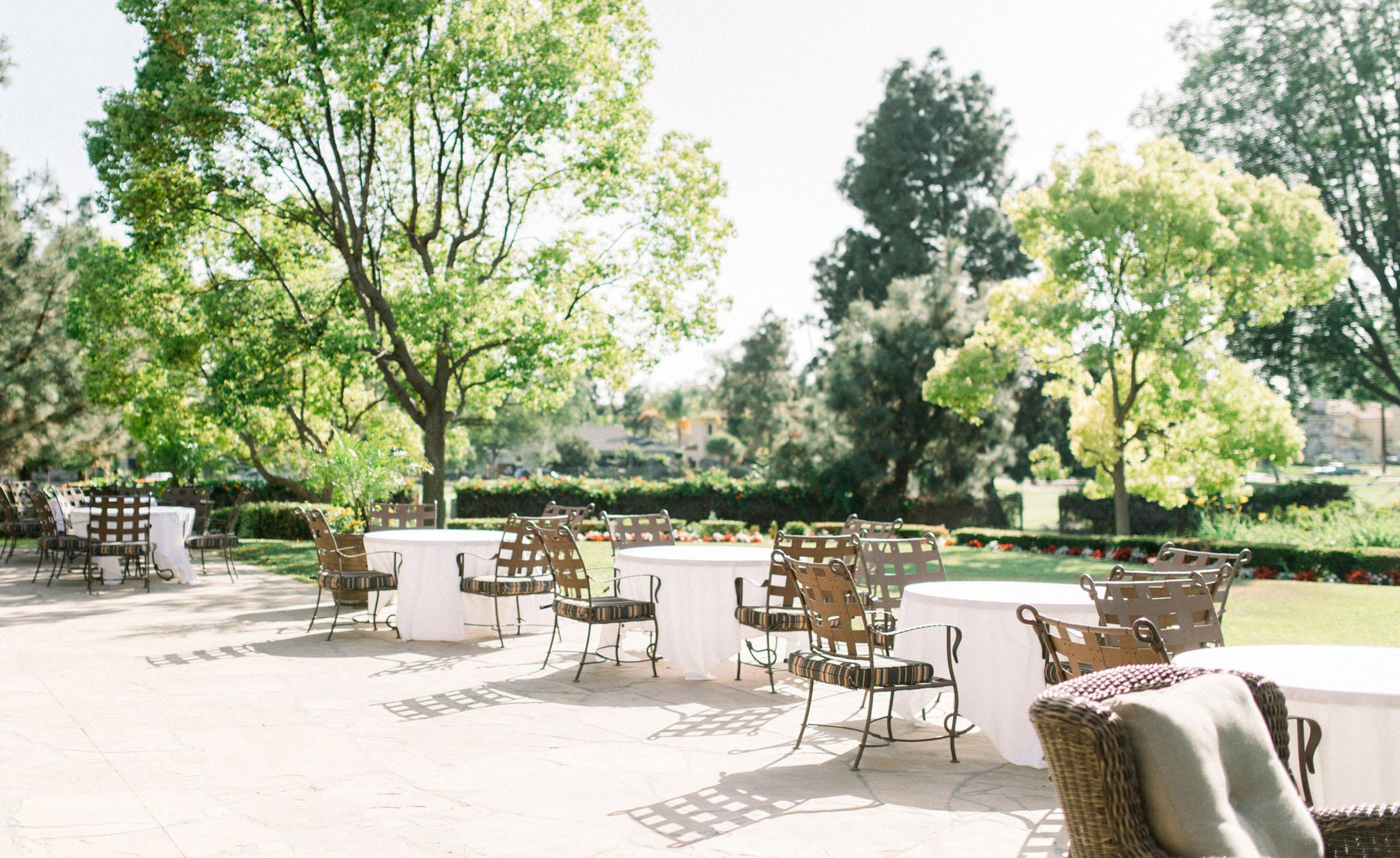 Cocktail Patio - Rio Hondo - Downey, California - Los Angeles County - Wedgewood  Weddings