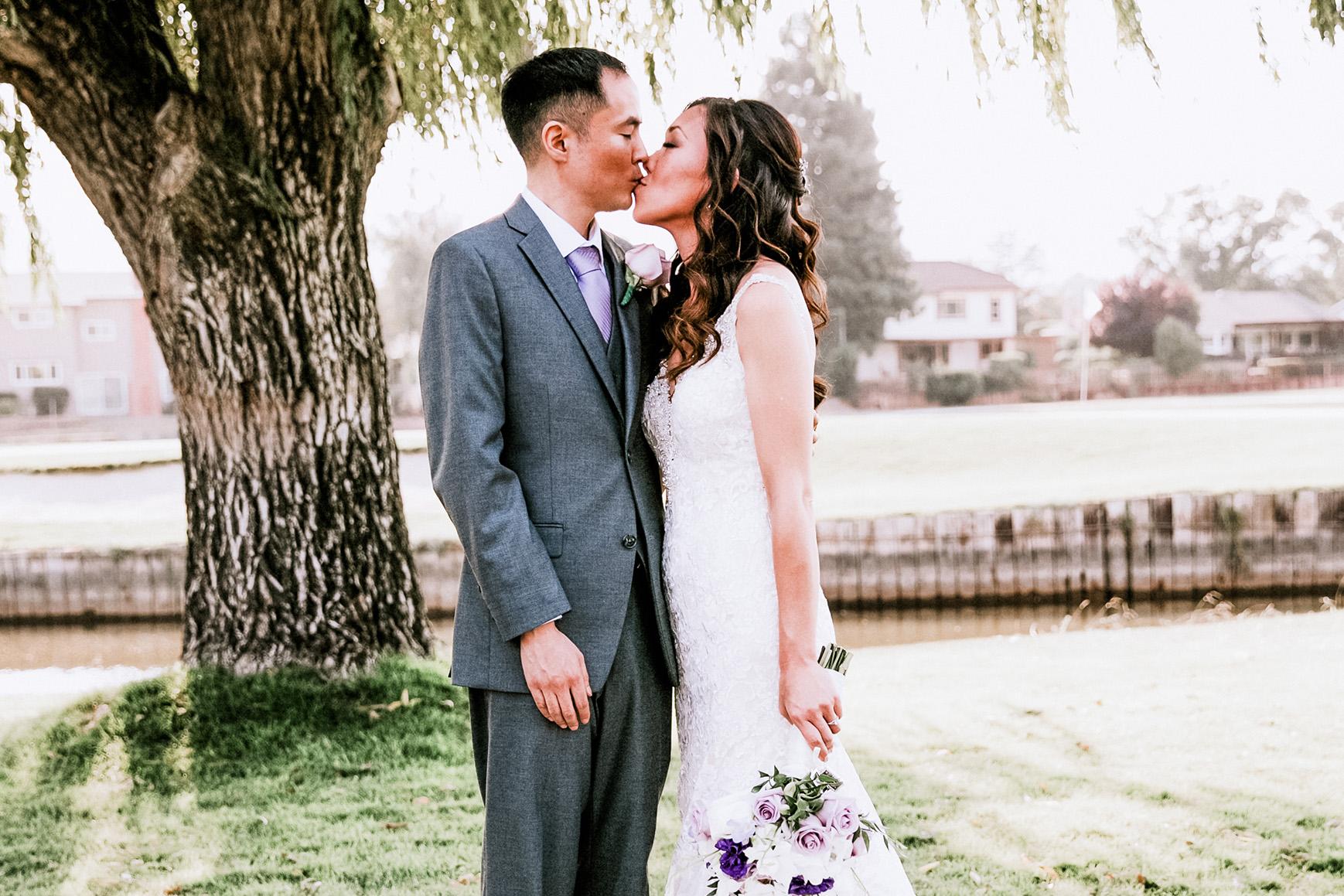Bride and Groom - San Ramon - San Ramon, California - Contra Costa County - Wedgewood Weddings