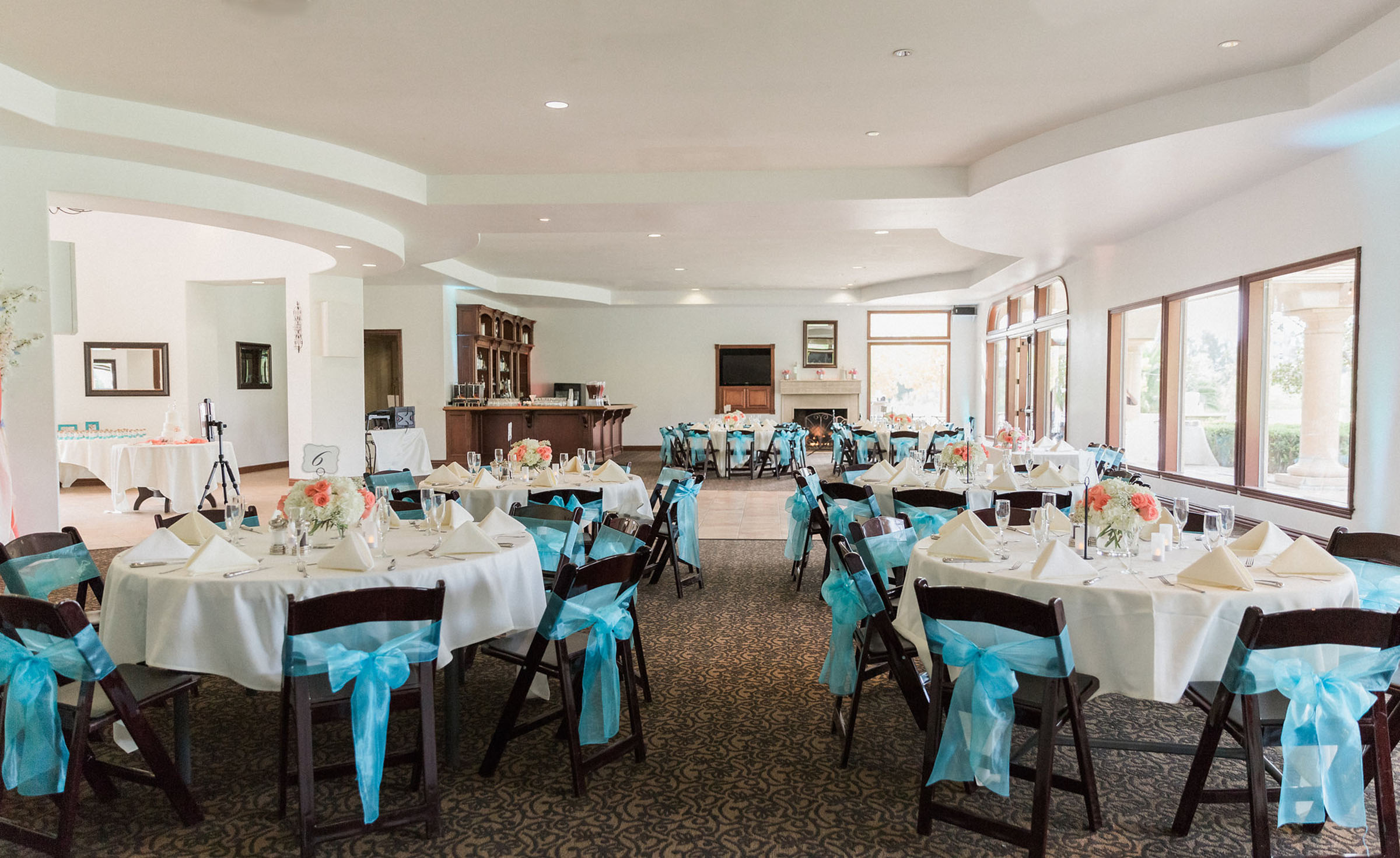 Banquet Hall - Sterling Hills - Camarillo, California - Ventura County - Wedgewood Weddings