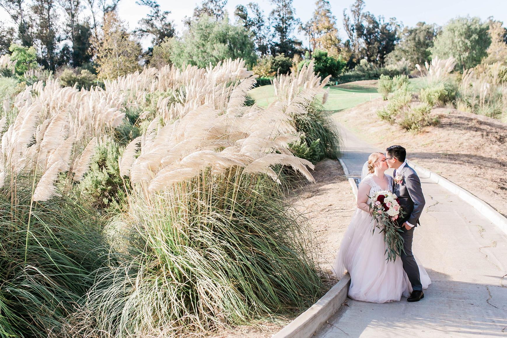 Romantic hideaways for newlywed photos - Sterling Hills - Camarillo, California - Ventura County - Wedgewood Weddings