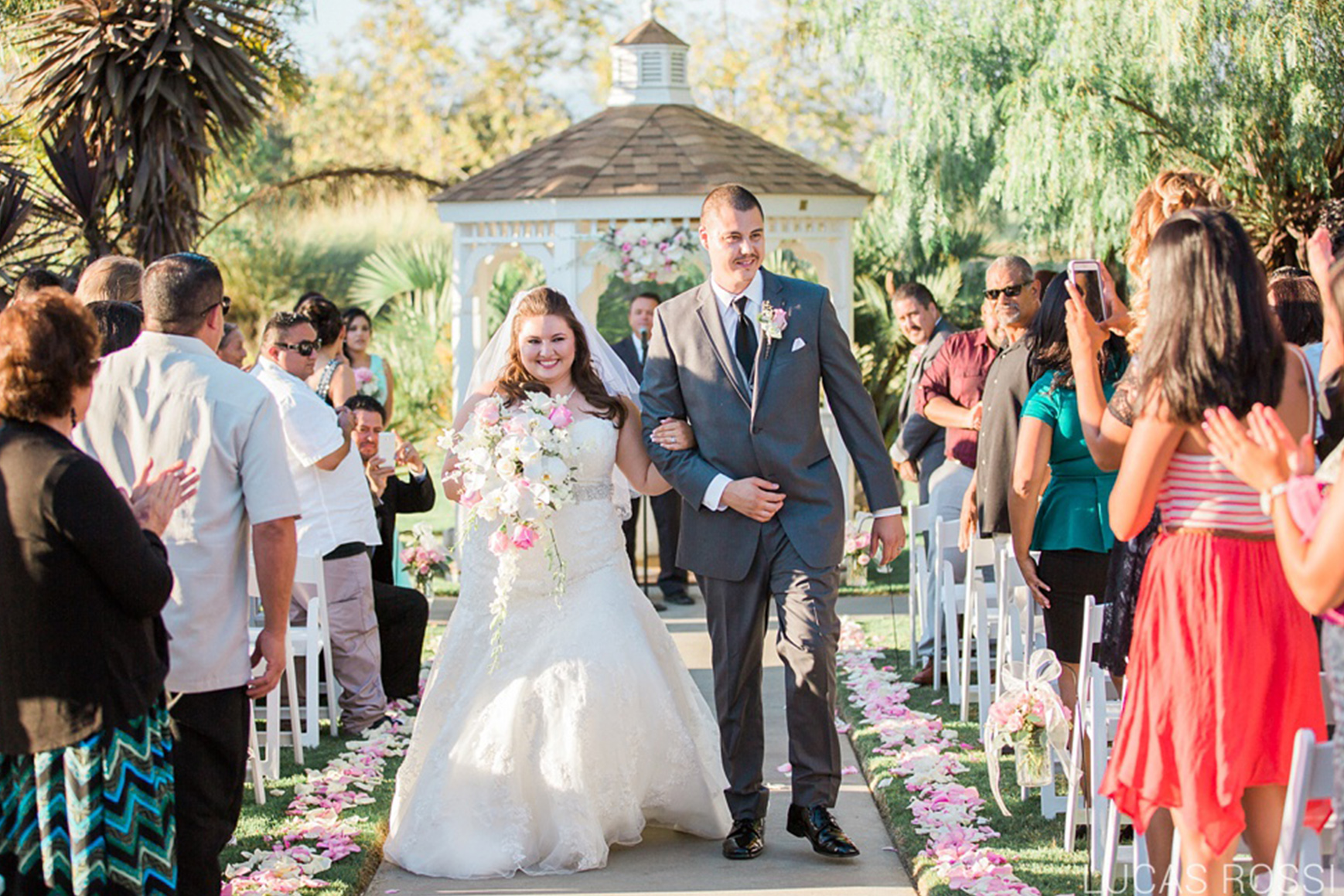 Happy Newlyweds - Sterling Hills - Camarillo, California - Ventura County - Wedgewood Weddings