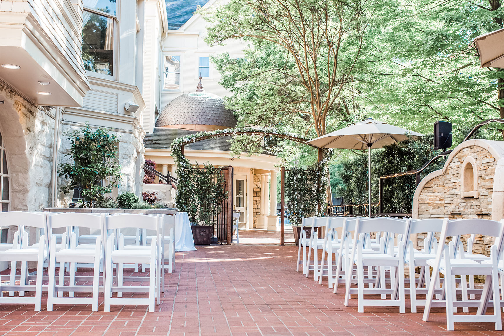 Outdoor Ceremony - Sacramento, California - Sacramento County - Wedgewood Weddings