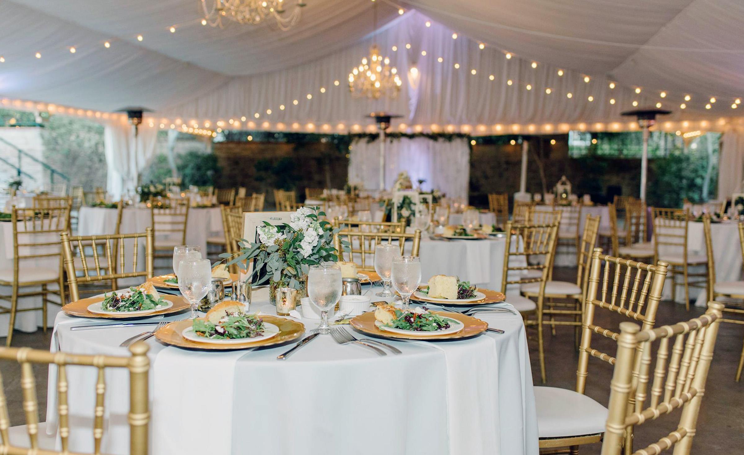 Pavilion Reception - Stonebridge Manor - Mesa, Arizona - Maricopa County - Wedgewood  Weddings