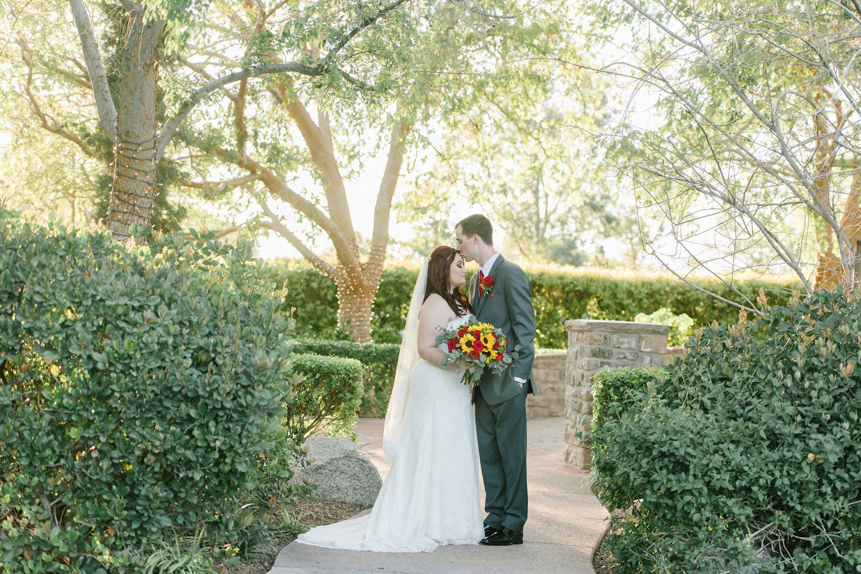 Happy couple - Stonebridge Manor - Mesa, Arizona - Maricopa County - Wedgewood Weddings