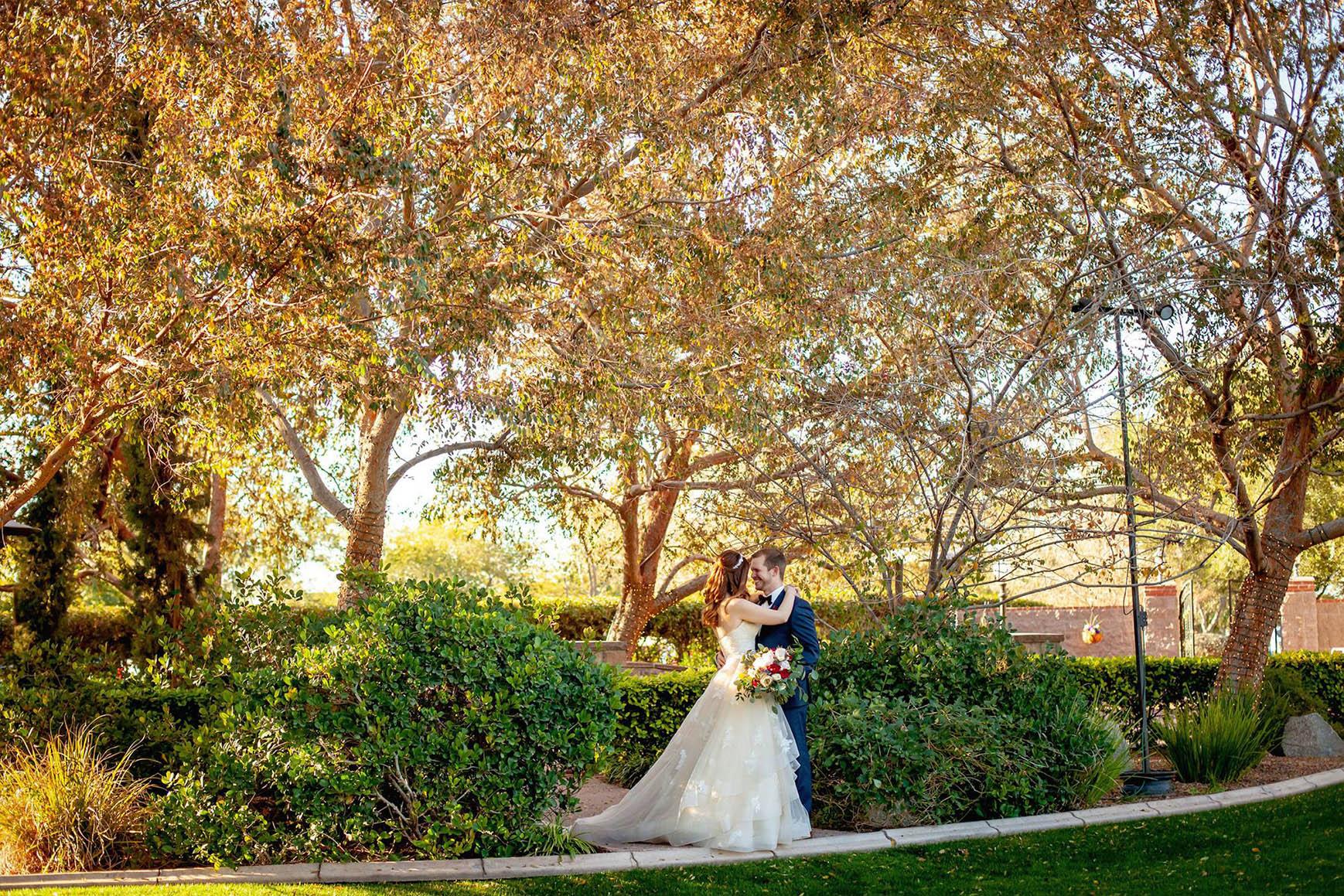 Happy couple - Stonebridge Manor - Mesa, Arizona - Maricopa County - Wedgewood Weddings
