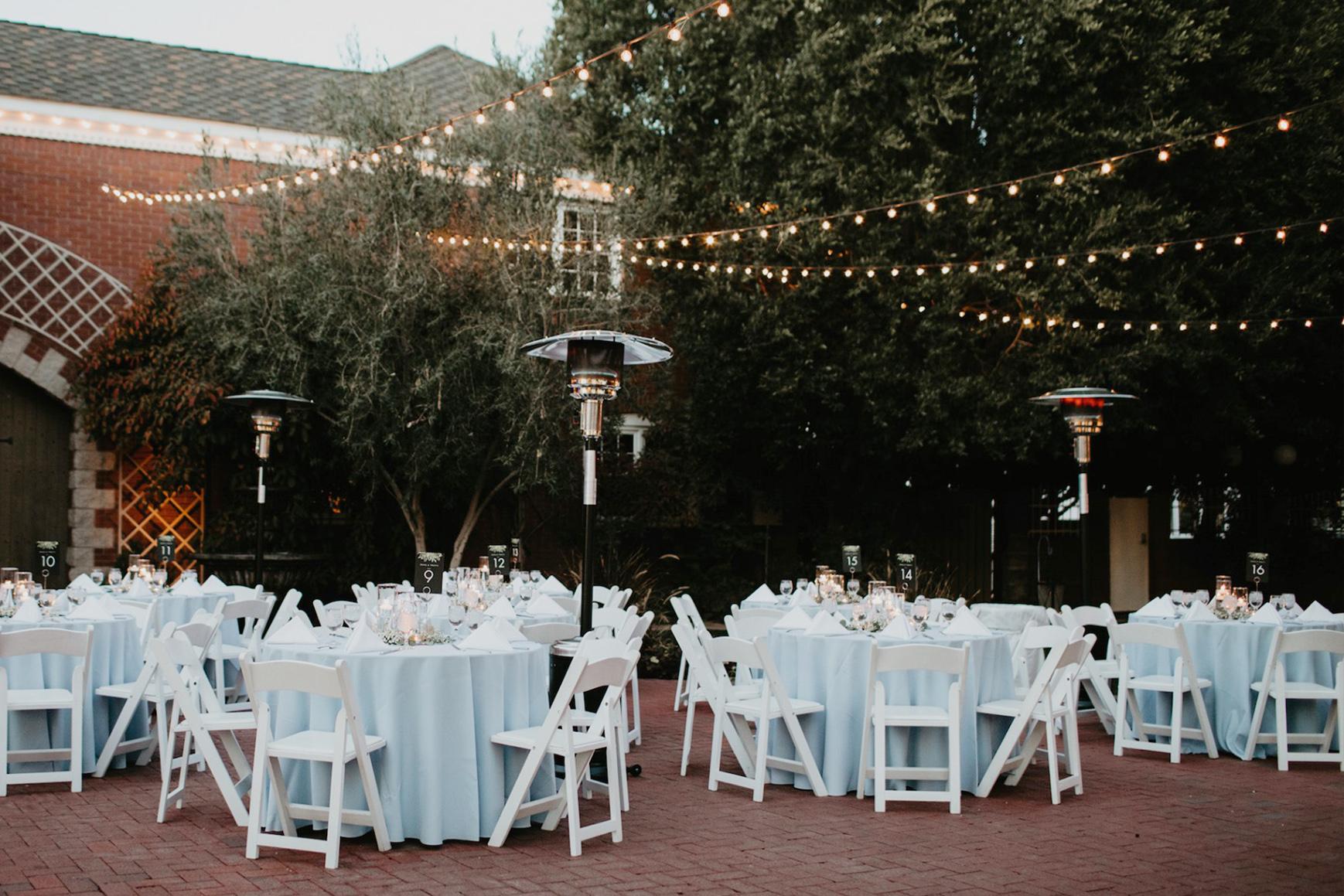 Outdoor reception - Stonebridge Manor - Mesa, Arizona - Maricopa County - Wedgewood Weddings