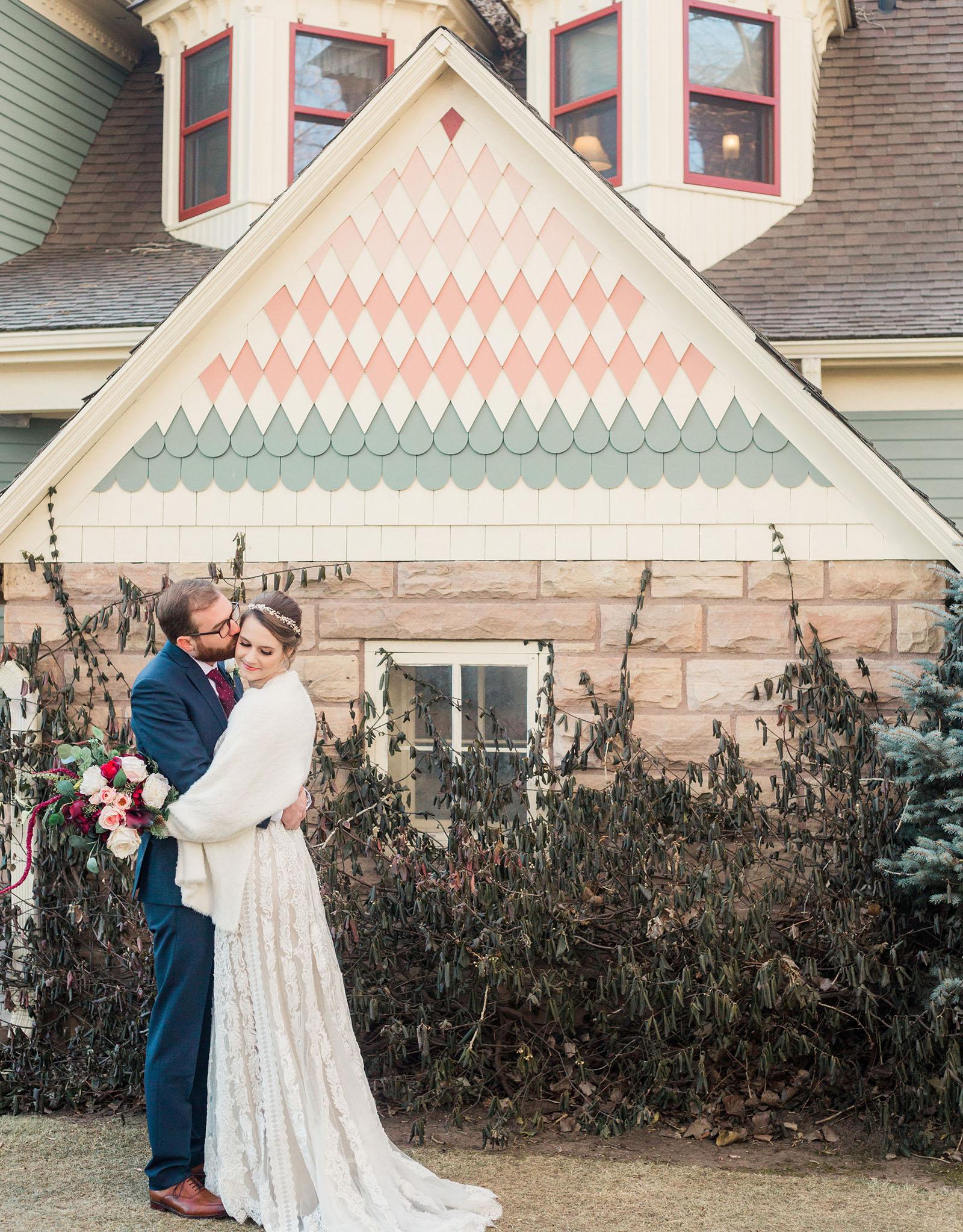 Happy Couple - Tapestry House - Laporte, Colorado - Larmier County - Wedgewood Weddings