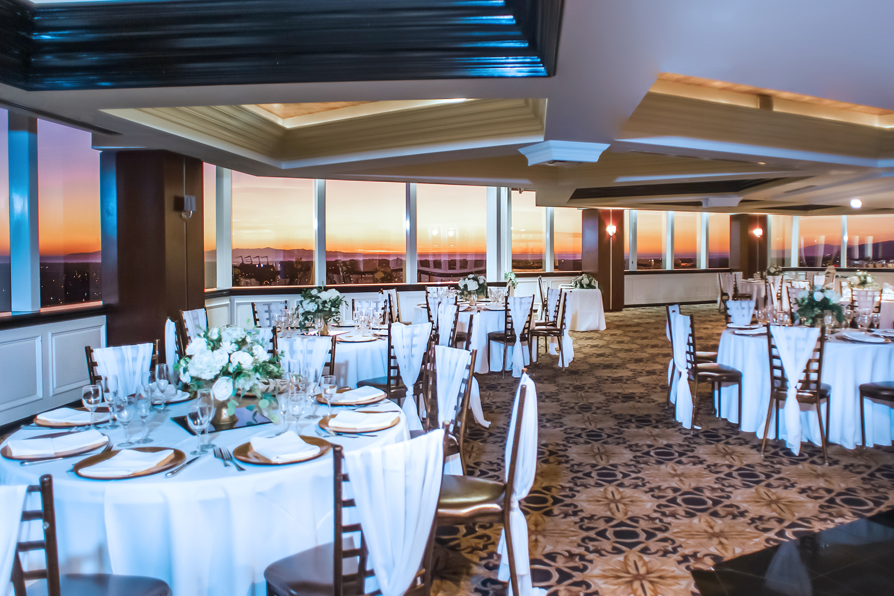 Pacific View Tower Club - Oxnard, California - Ventura County - Bride and Groom - Wedgewood Weddings