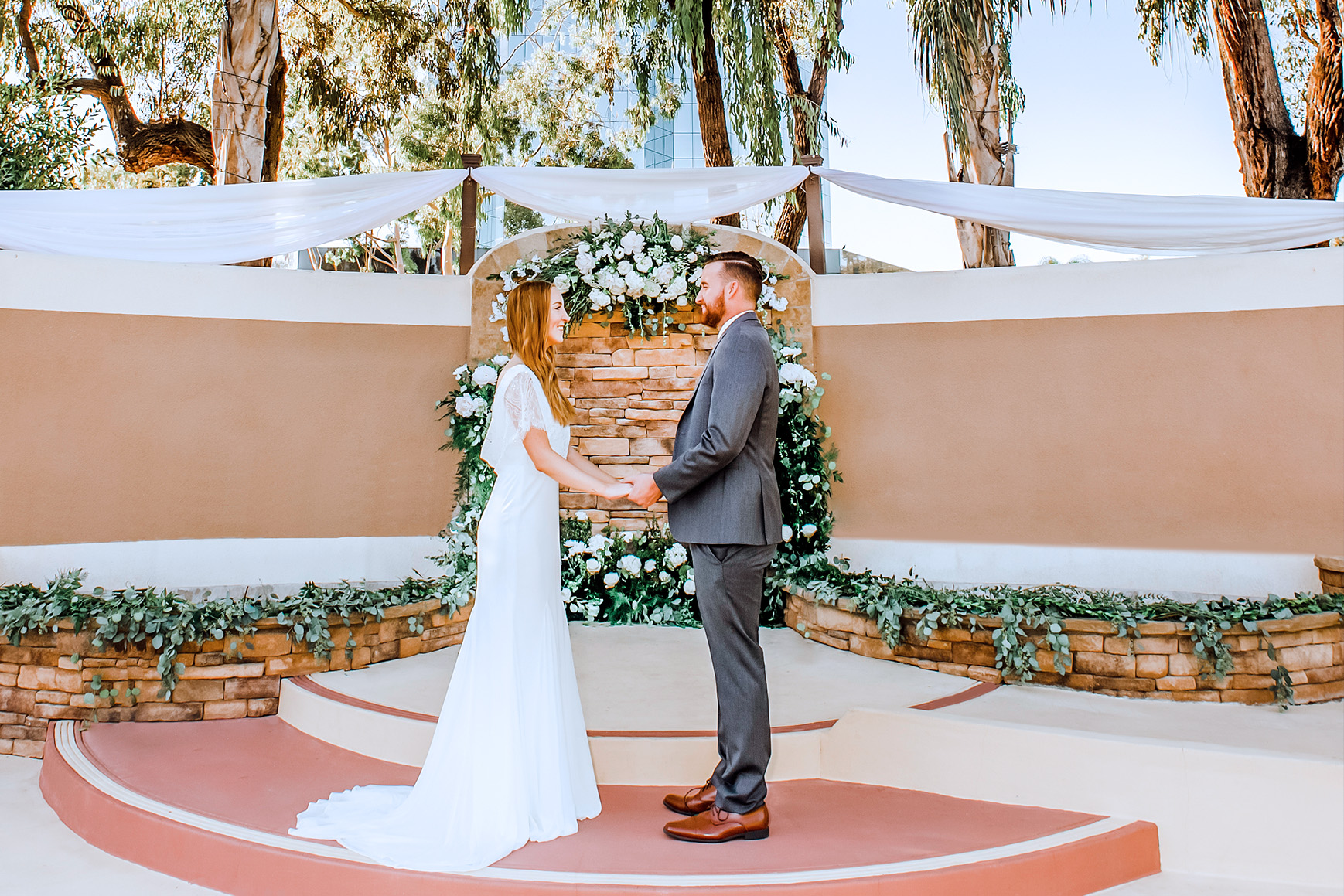 Pacific View Tower Club - Oxnard, California - Ventura County - Garden Ceremony