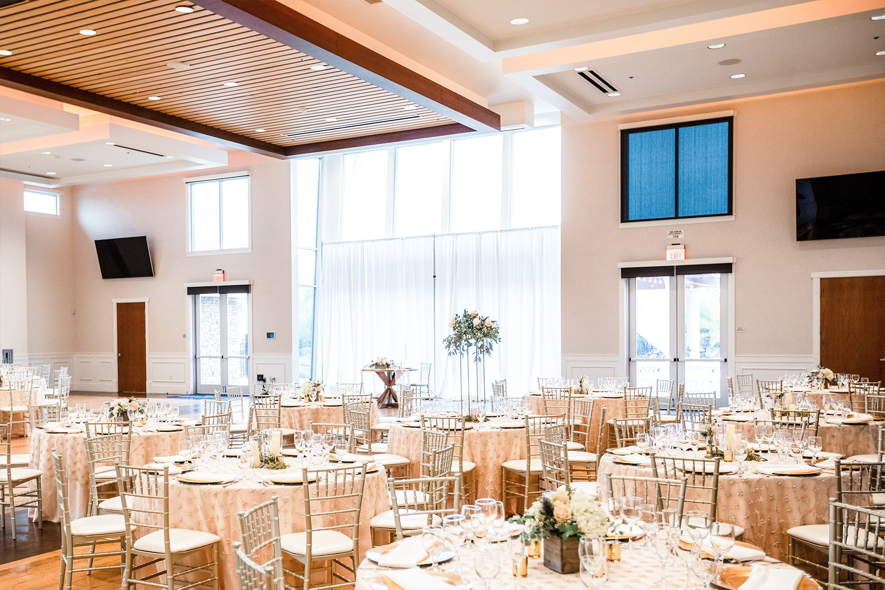 Grand ballroom - Union Brick - Roseville, California, Placer County - Wedgewood Weddings