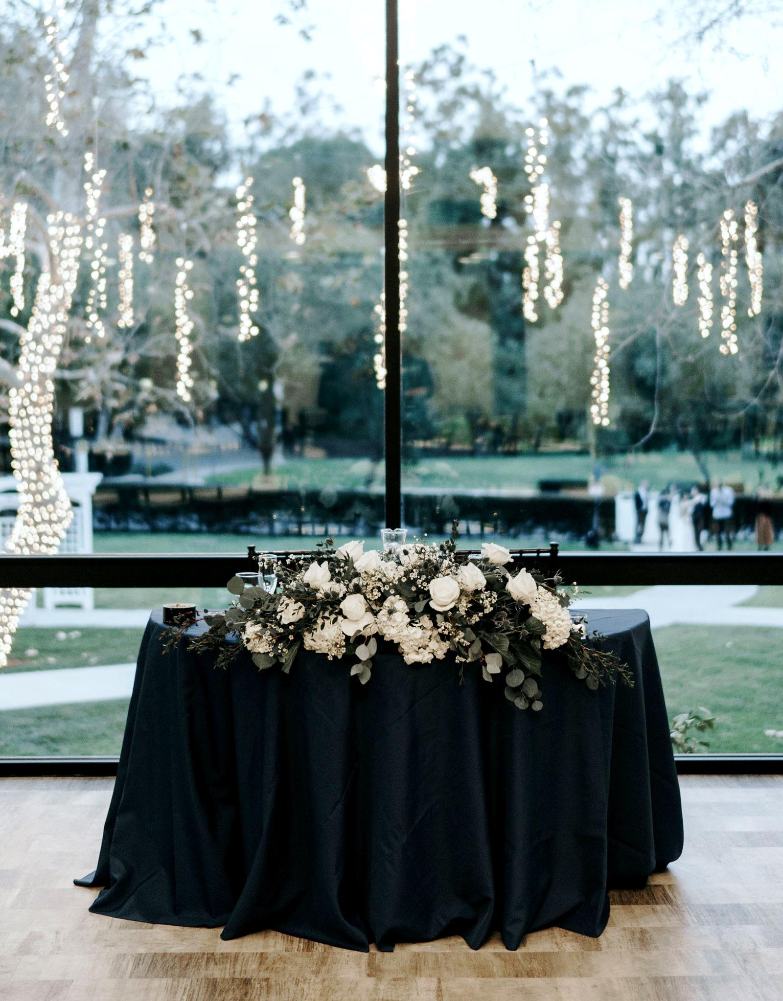 Sweetheart table - University Club - Irvine, California - Orange County - Wedgewood Weddings