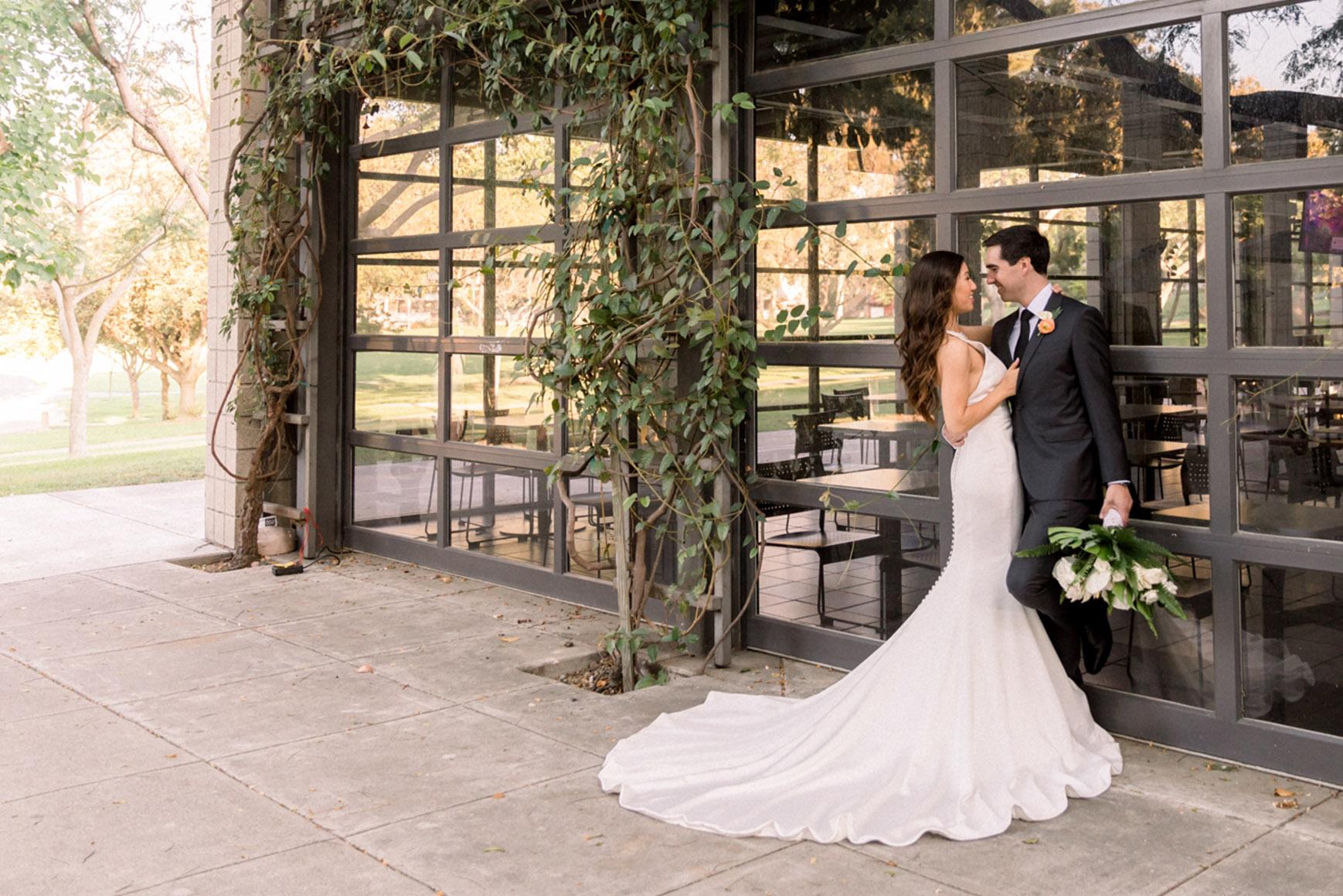 Couple by ivy - University Club - Irvine, California - Orange County - Wedgewood Weddings