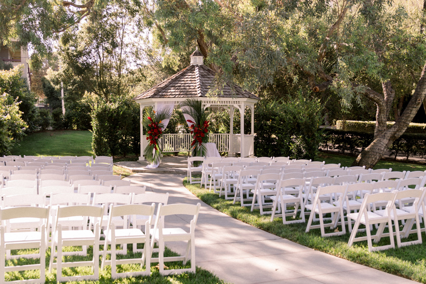 Beautiful ceremony site - University Club - Irvine, California - Orange County - Wedgewood Weddings