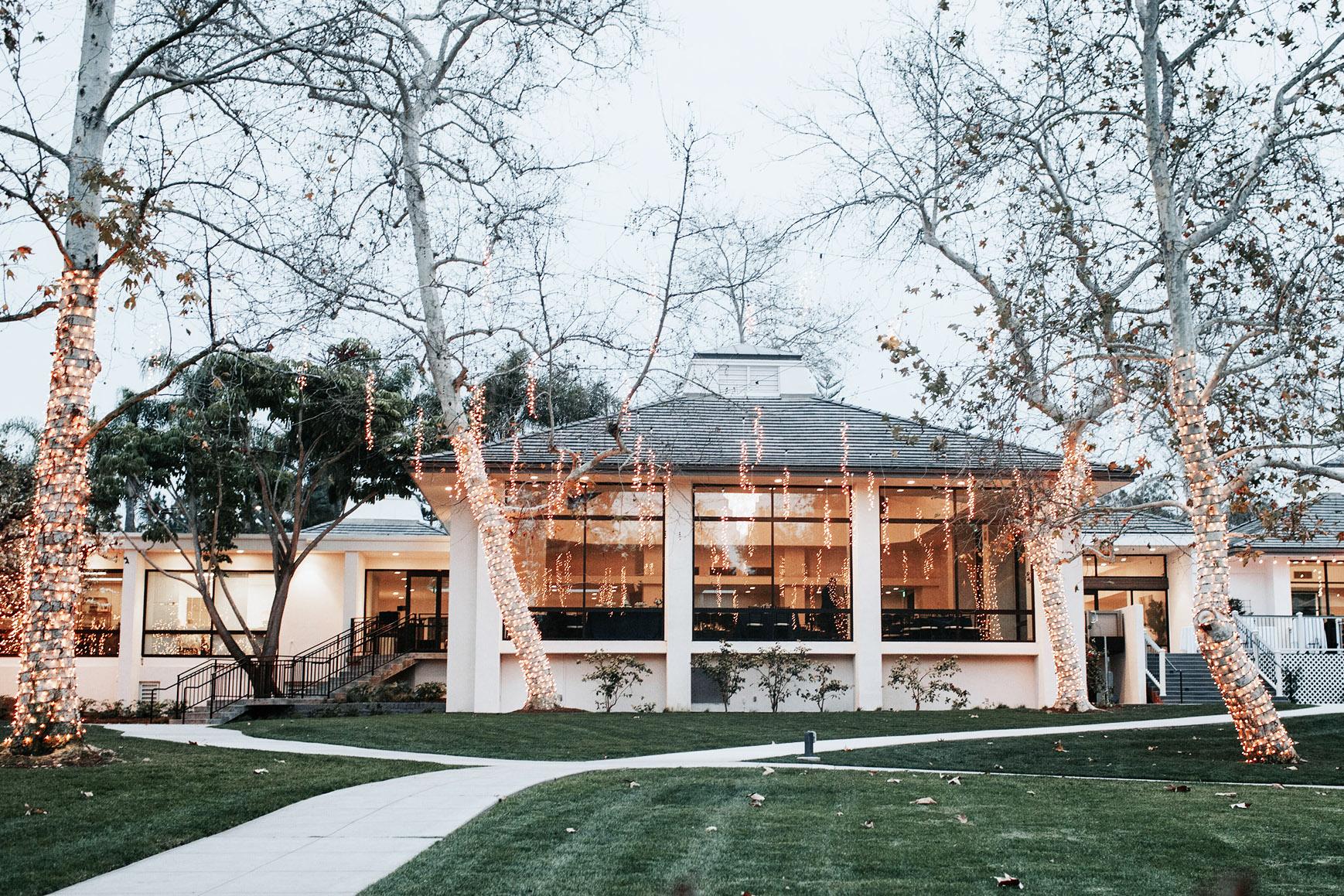 Stunning setting - University Club - Irvine, California - Orange County - Wedgewood Weddings