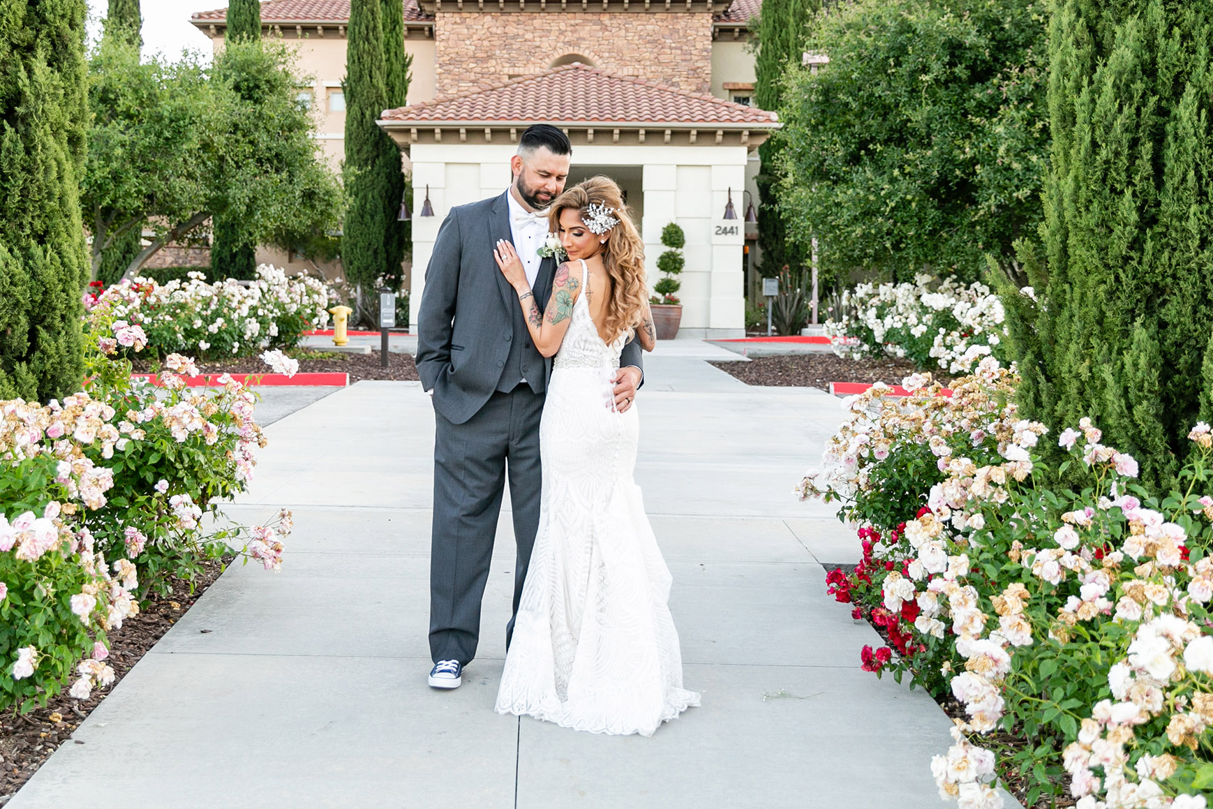 Tender couple - Vellano - Chino Hills, California - San Bernardino County - Wedgewood Weddings